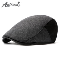 AETRENDS Men/Women Winter Retro Cap Beret Hats
