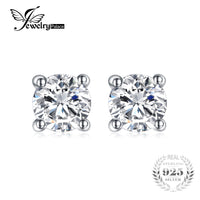 JewelryPalace 1ct Sterling Silver Earrings