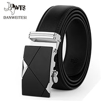 Designer Men's Leather Strap Girdle Wide Belt