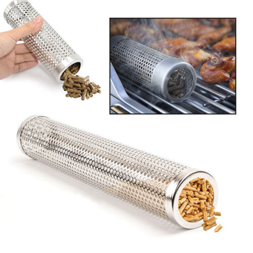 BBQ Pellet Smoking Tube | Velvet Hollow