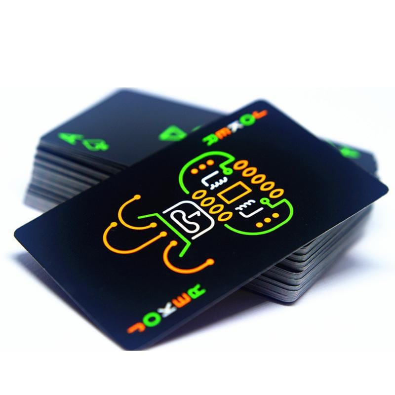 Fluorescent Poker Cards | Velvet Hollow