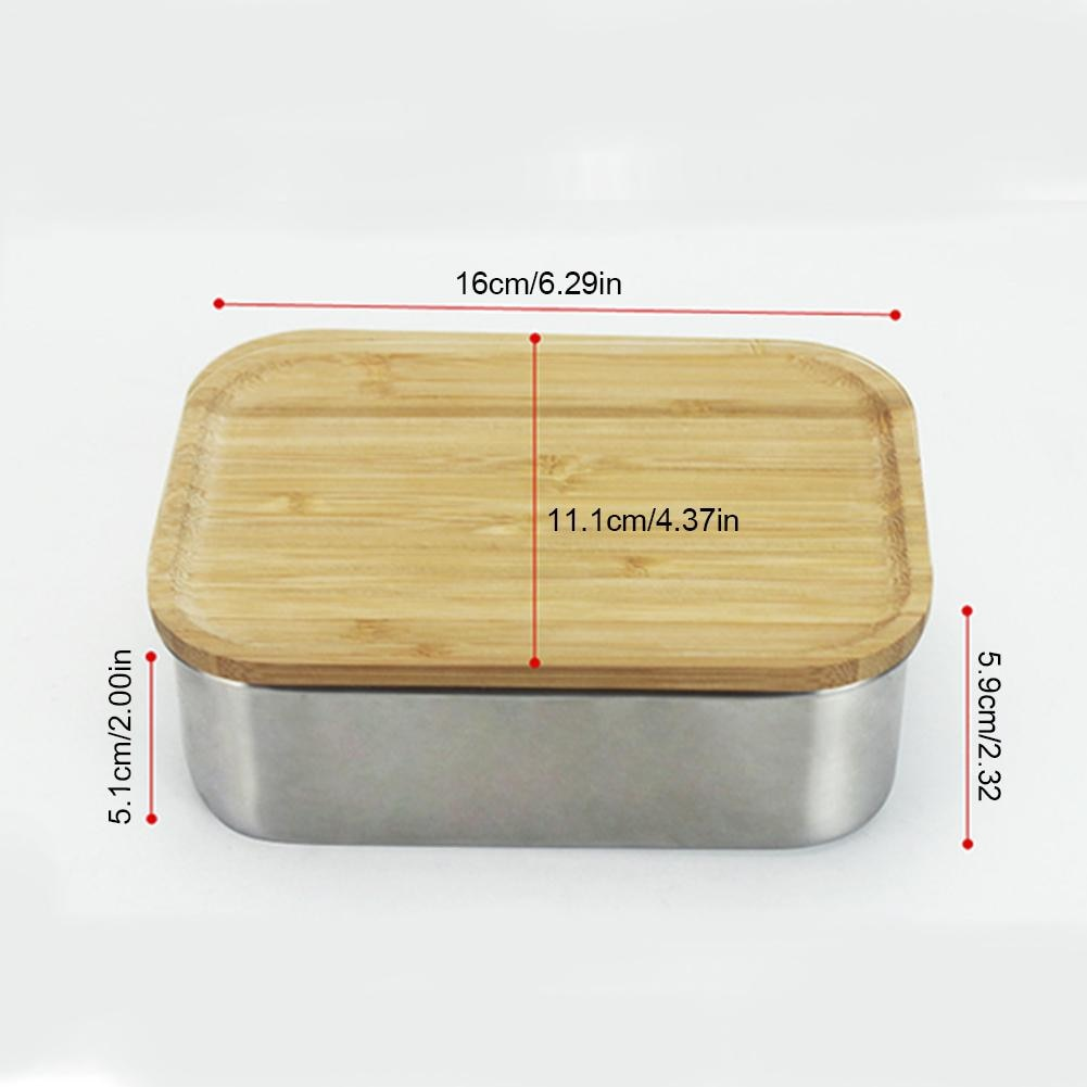Japanese Wooden Lid Sushi/Lunch Box | Velvet Hollow