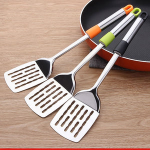Polished Stainless Steel Spatula