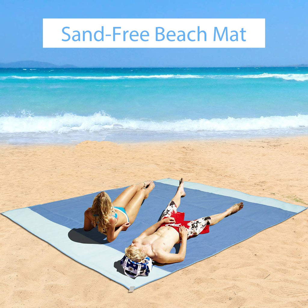 Sandproof & Waterproof Beach Mat | Velvet Hollow