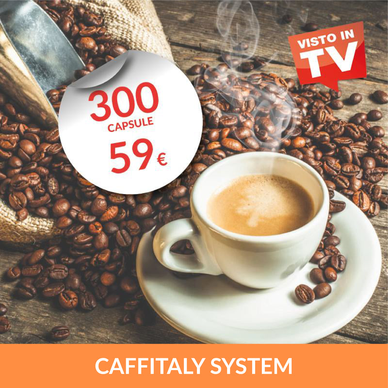 Kit 300 Capsule Caffitaly System*