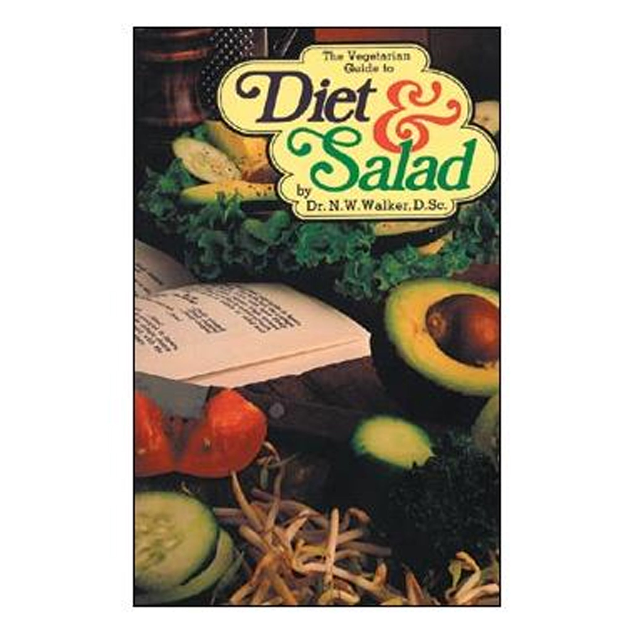 The Vegetarian Guide to Diet and Salad, GPB-NW05 - Tribest