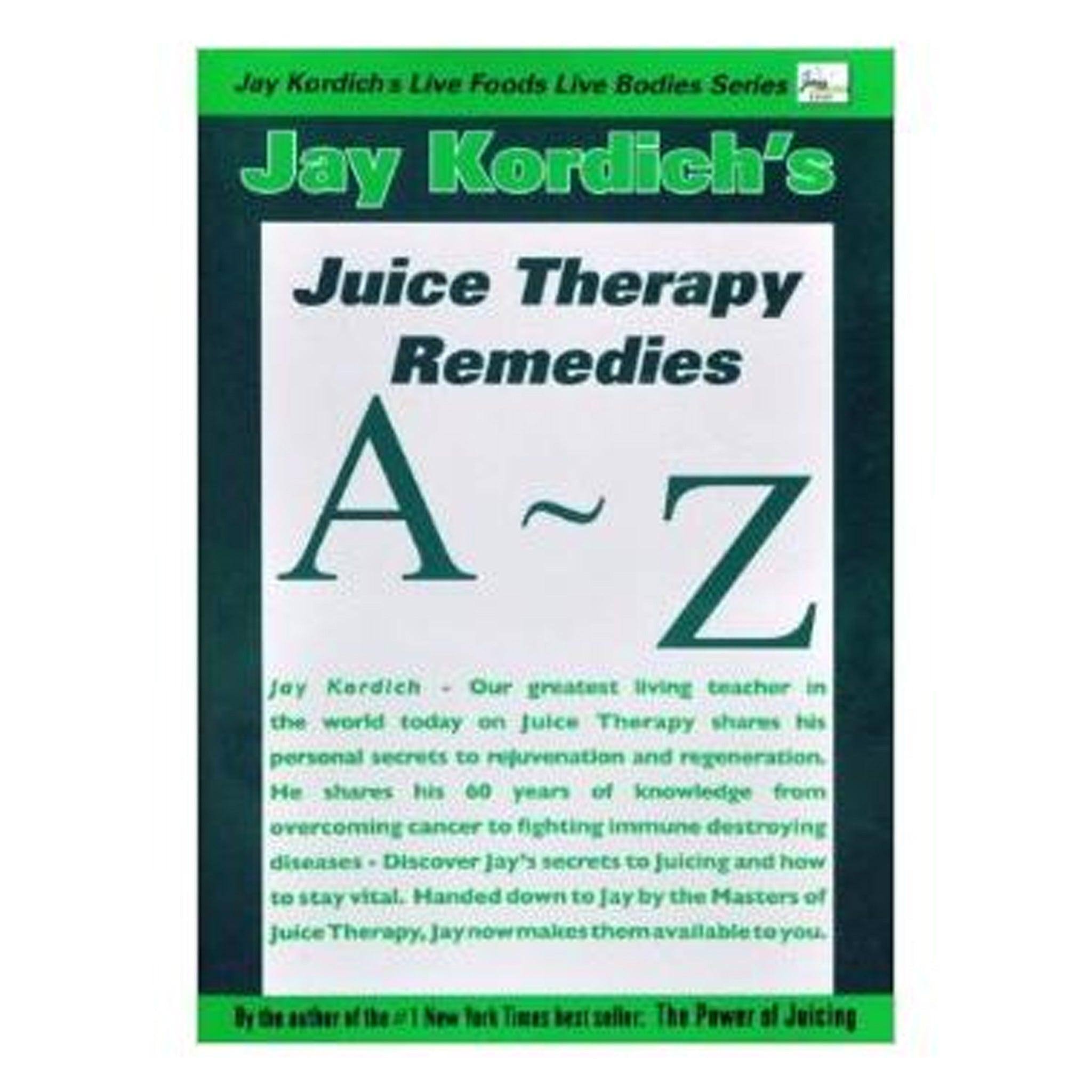 A to Z Juice Therapy Remedies, GPBJK02 - Tribest