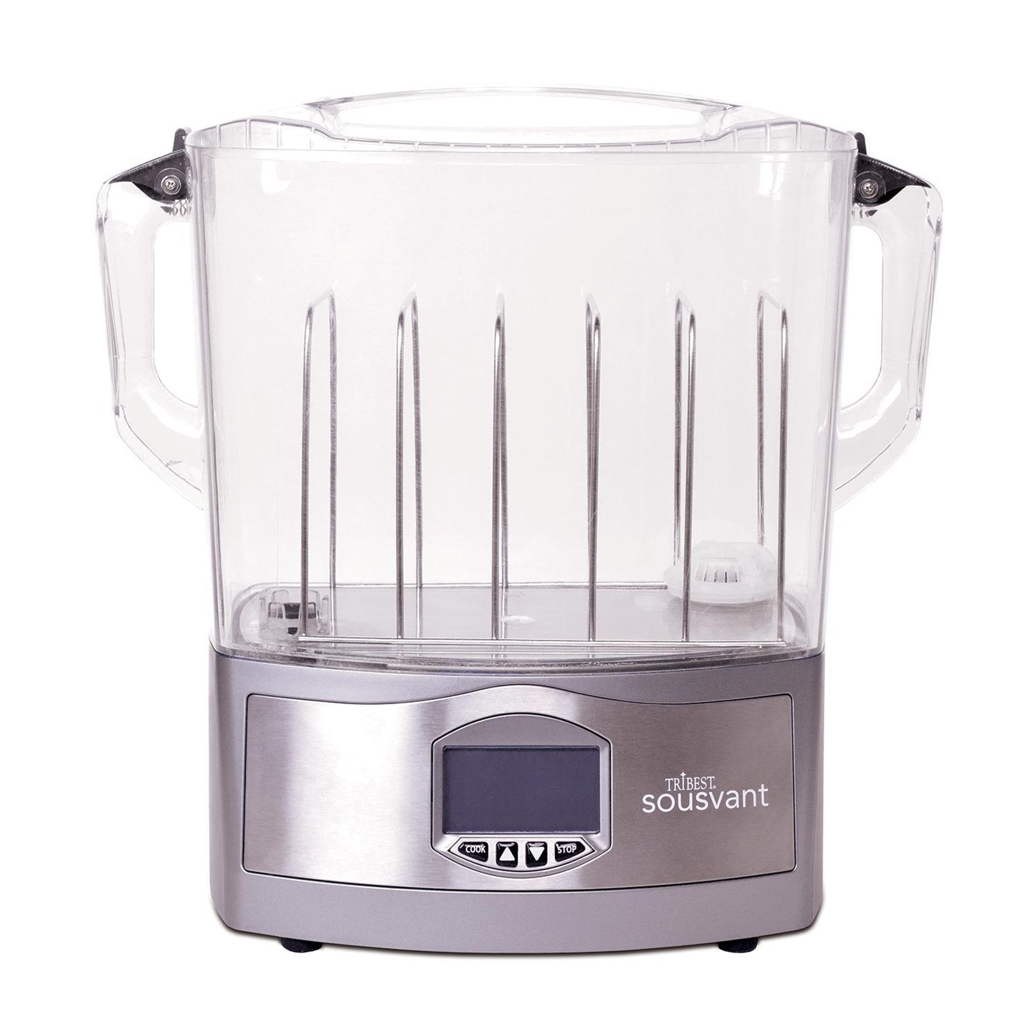 For Sousvant® Sous Vide Circulator SV-101. The Sousvant® Rack separates food pouches to maximize the number of portions the water oven will hold and also helps to keep food pouches submerged. It allows for proper circulation and ensure even cooking.