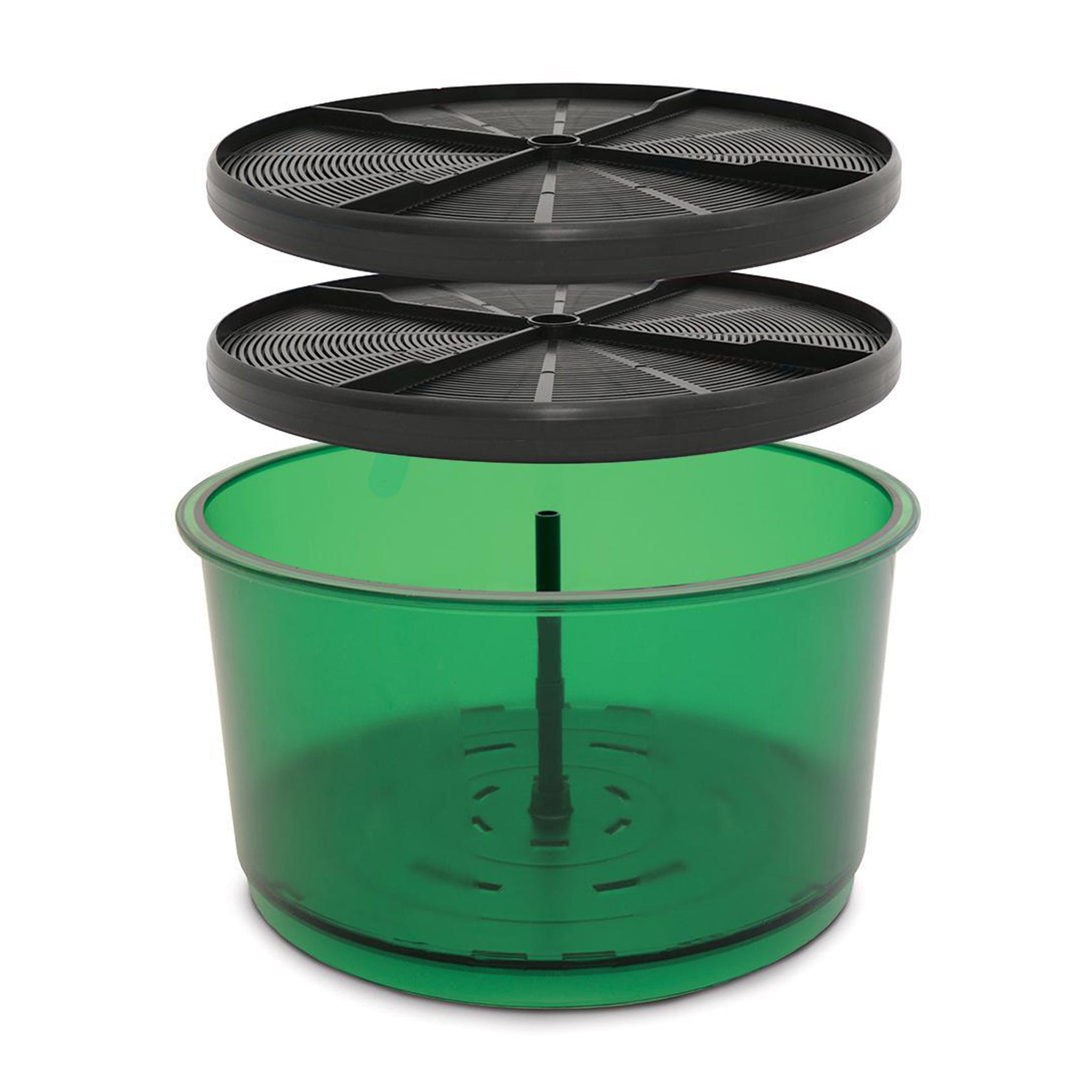 The Freshlife® Extra Barrel Set instantly doubles the sprouting capacity of the Freshlife® Sprouter. The Extra Barrel Set comes with everything you need to double stack your sprouter and increase the amount and variety of sprouts you can grow at a time! Now, with the new Freshlife® 3000, you can have up to three sprouting barrels.