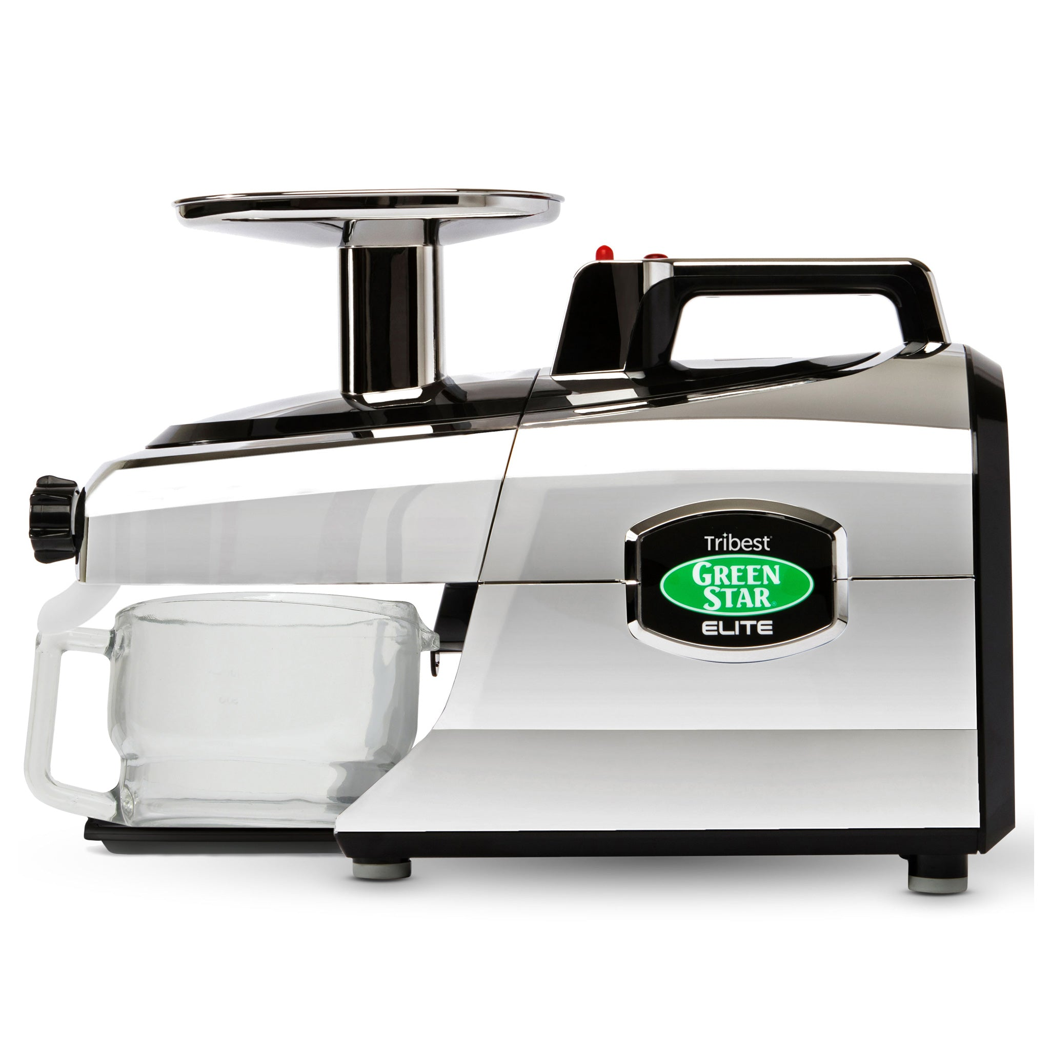 Greenstar® Elite Jumbo Twin Gear Slow Masticating Juicer in Chrome GSE-5050-B - Tribest