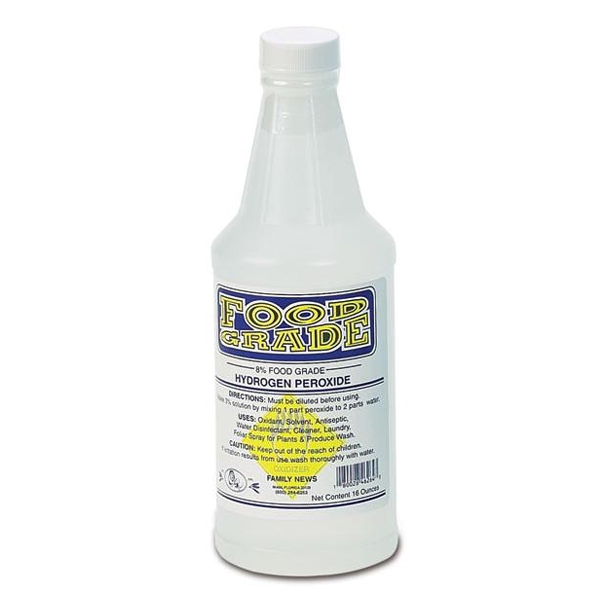 Food grade 8% hydrogen peroxide is the safe way to ensure clean and healthy sprouts. Add as little as 2 or 3 capfuls to a full barrel of water in your Freshlife Sprouter to ensure sprouts that are free from mold or bacteria growth.