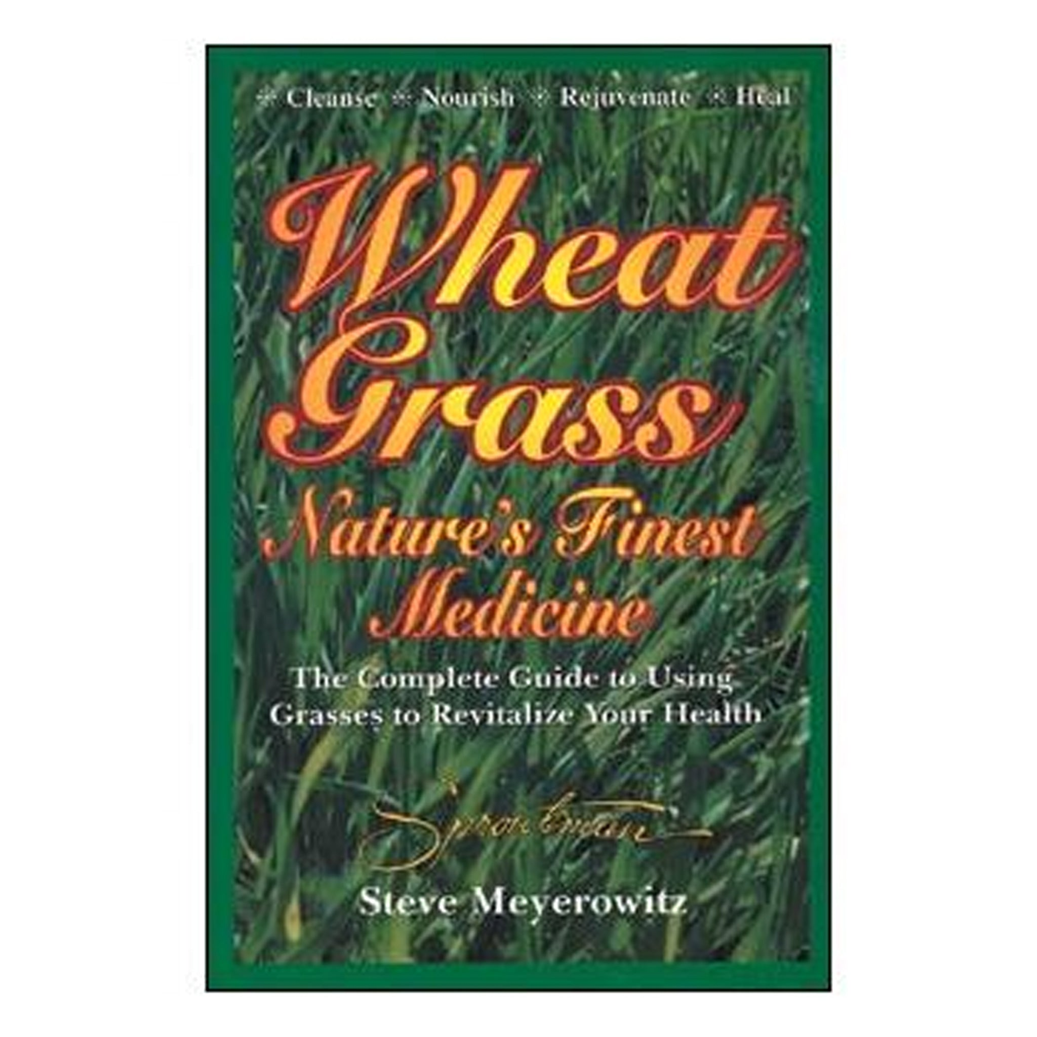 Wheatgrass, Nature's Finest Medicine, GPBSM02 - Tribest