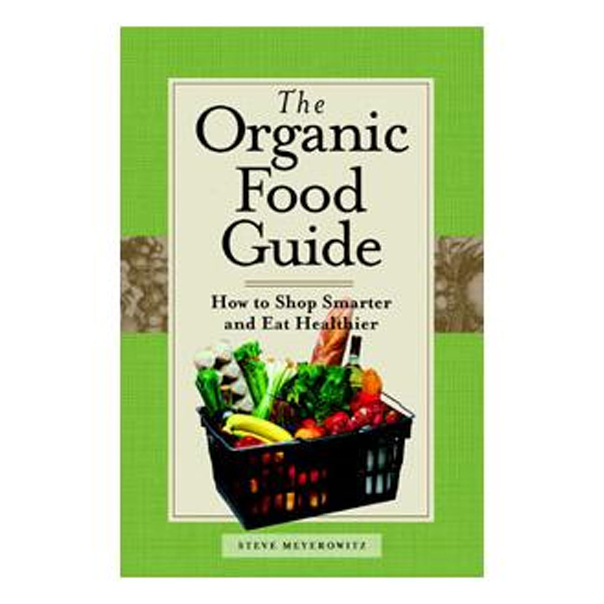 The Organic Food Guide, GPBSM08 - Tribest