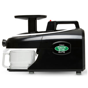 Greenstar® Elite Jumbo Twin Gear Slow Masticating Juicer in Black GSE-5010-B - Tribest