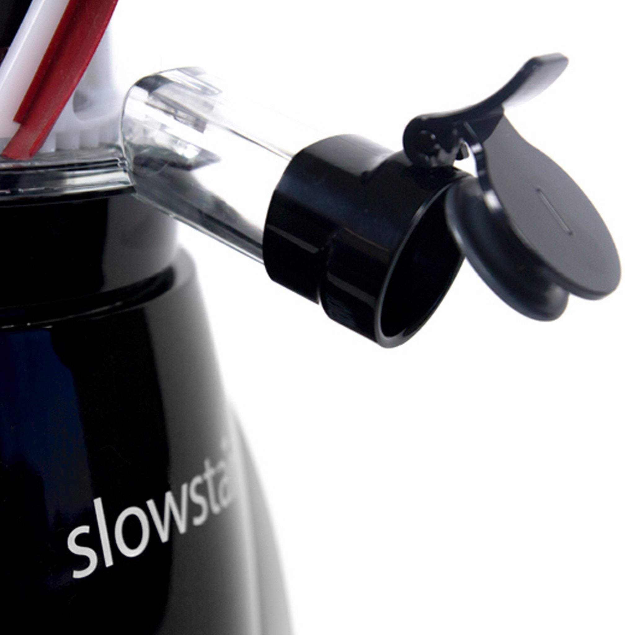 Slowstar® Vertical Slow Juicer & Mincer in Silver SW-2020-B - Juice Cap - Tribest