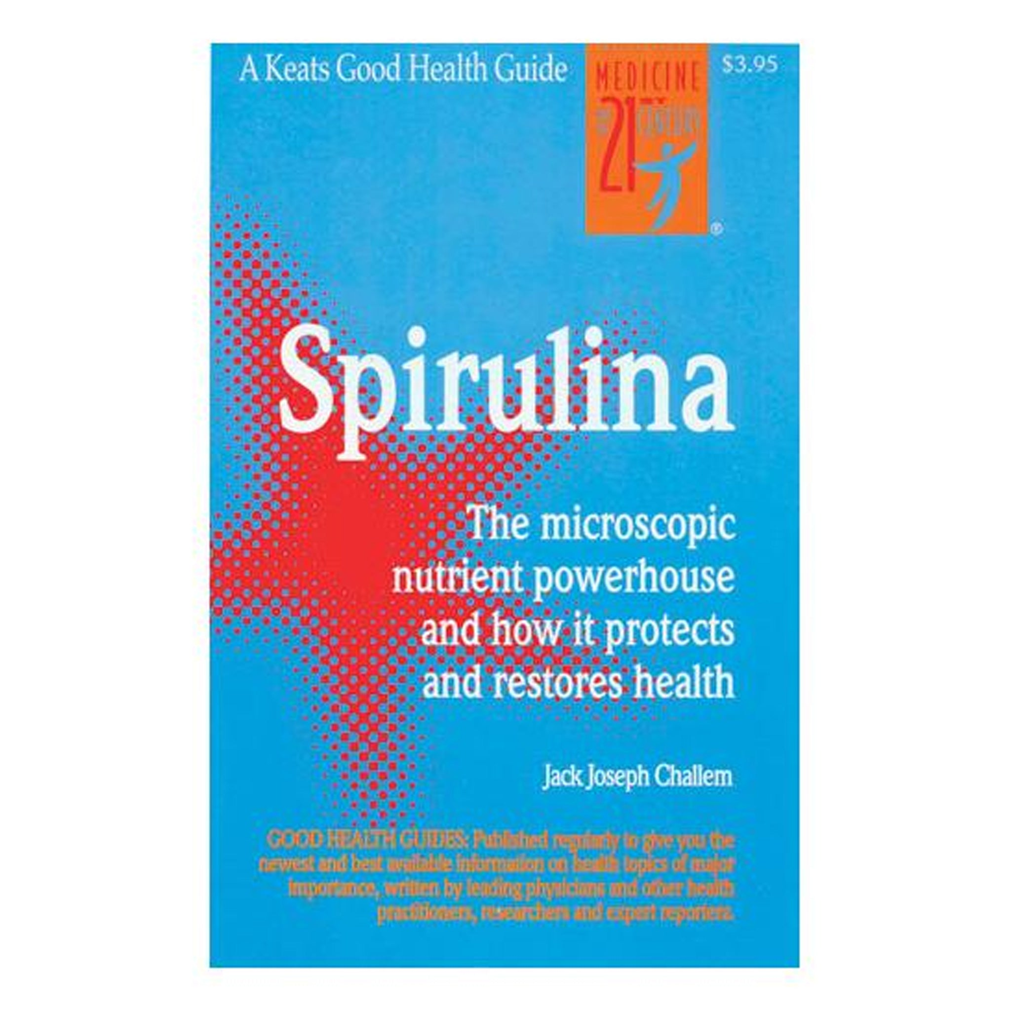 Spirulina: the Microscopic Nutrient Powerhouse and How it Protects and Restores Health, GPBSP01 - Tribest