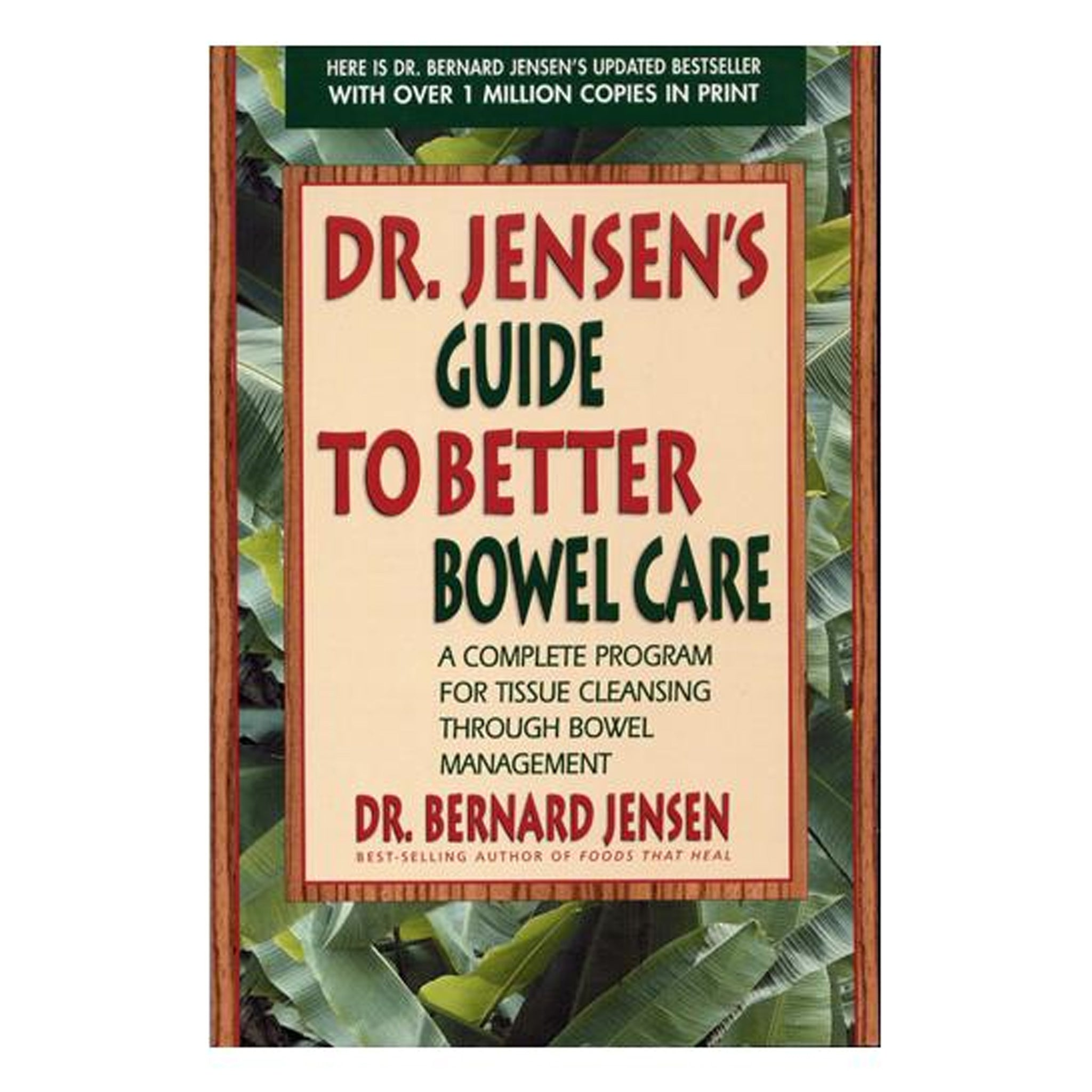 Dr. Jensen's Guide to Better Bowel Care, GPBBJ03 - Tribest
