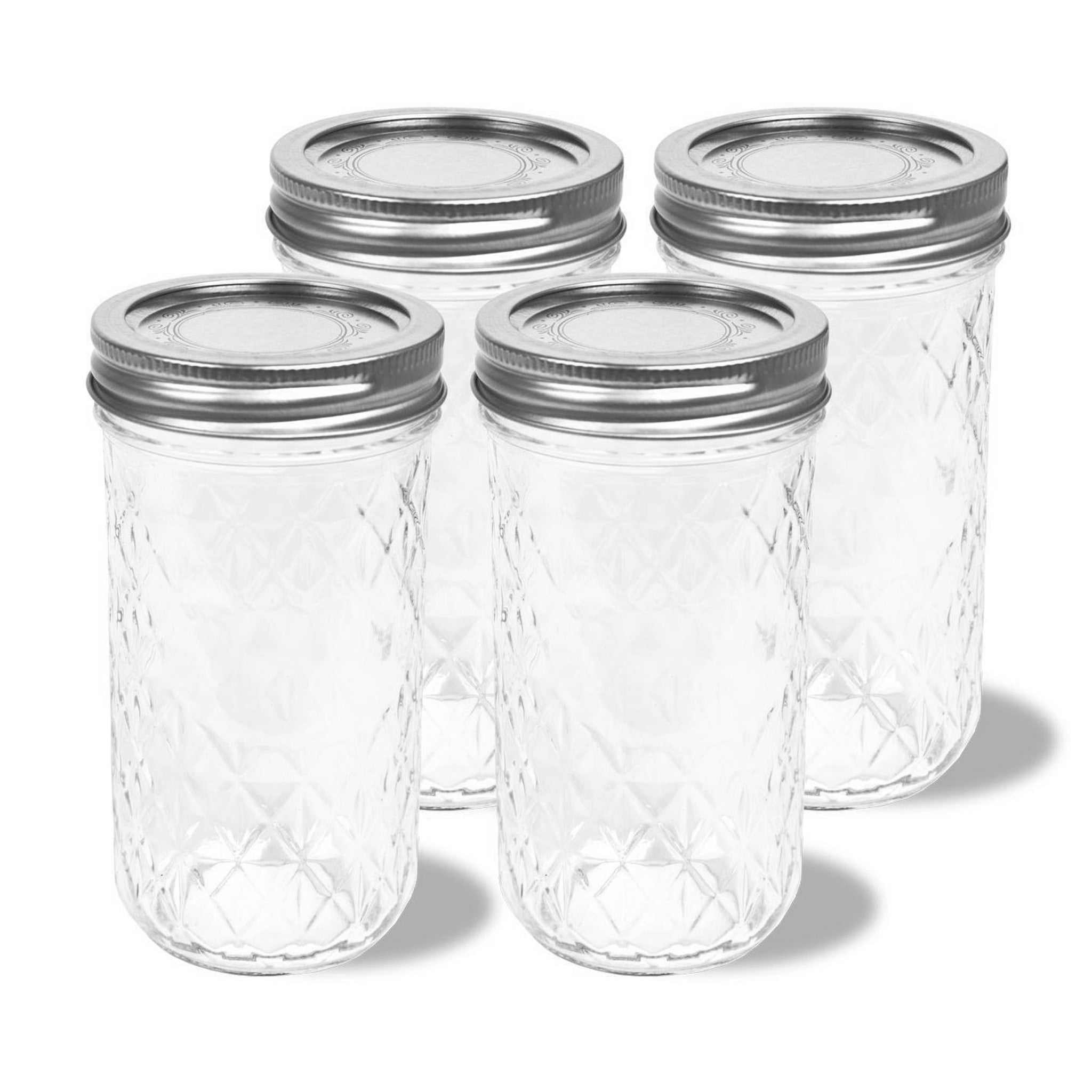 4-Pack Mason Jars (12 oz each) for the Personal Blender®. Blend up delicious smoothies, herbs, coffee beans, baby food and more. Store your recipes in these convenient and easy-to-use jars.