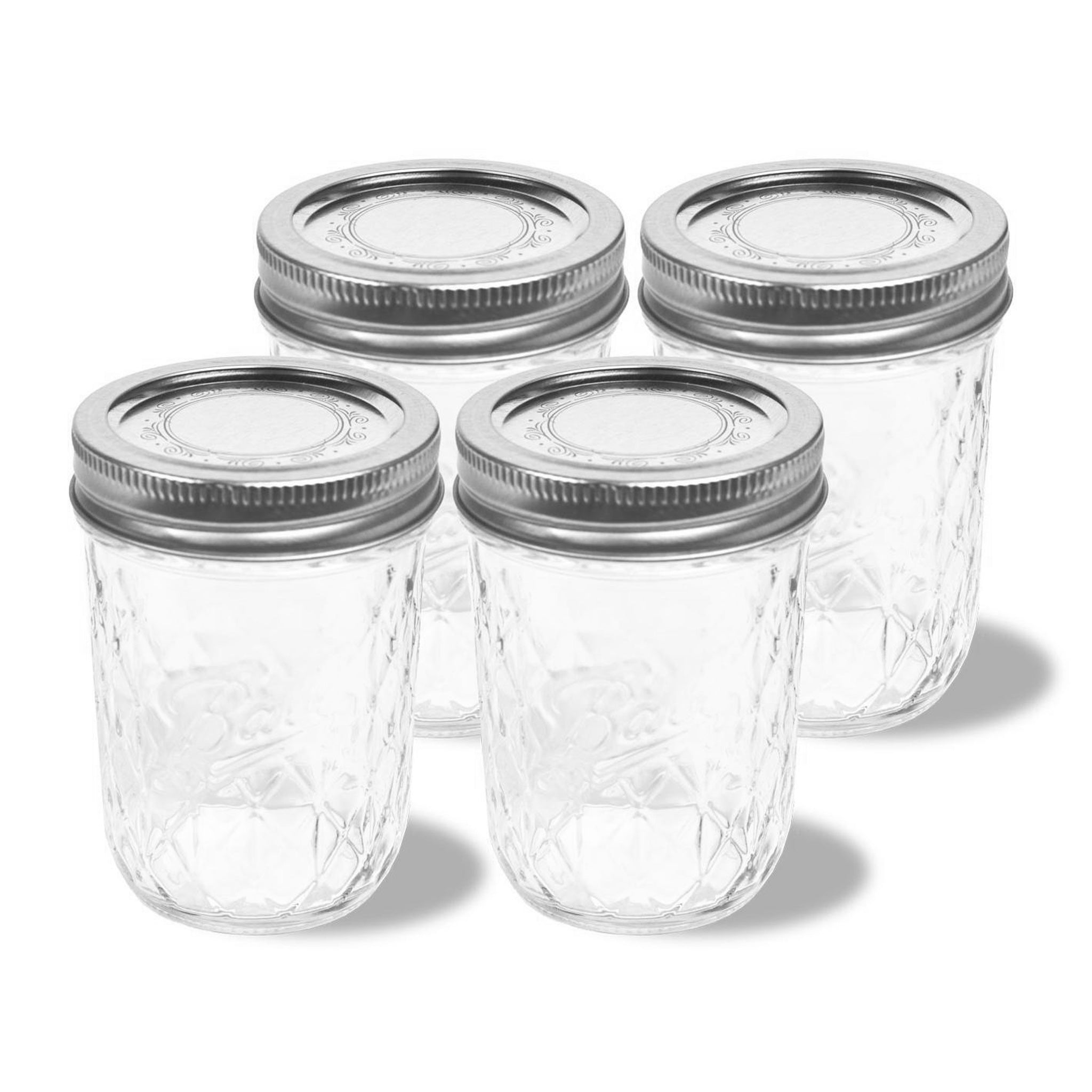 4-Pack Mason Jars (8 oz each) for the Personal Blender®. Blend up delicious smoothies, herbs, coffee beans, baby food and more. Store your recipes in these convenient and easy-to-use jars.