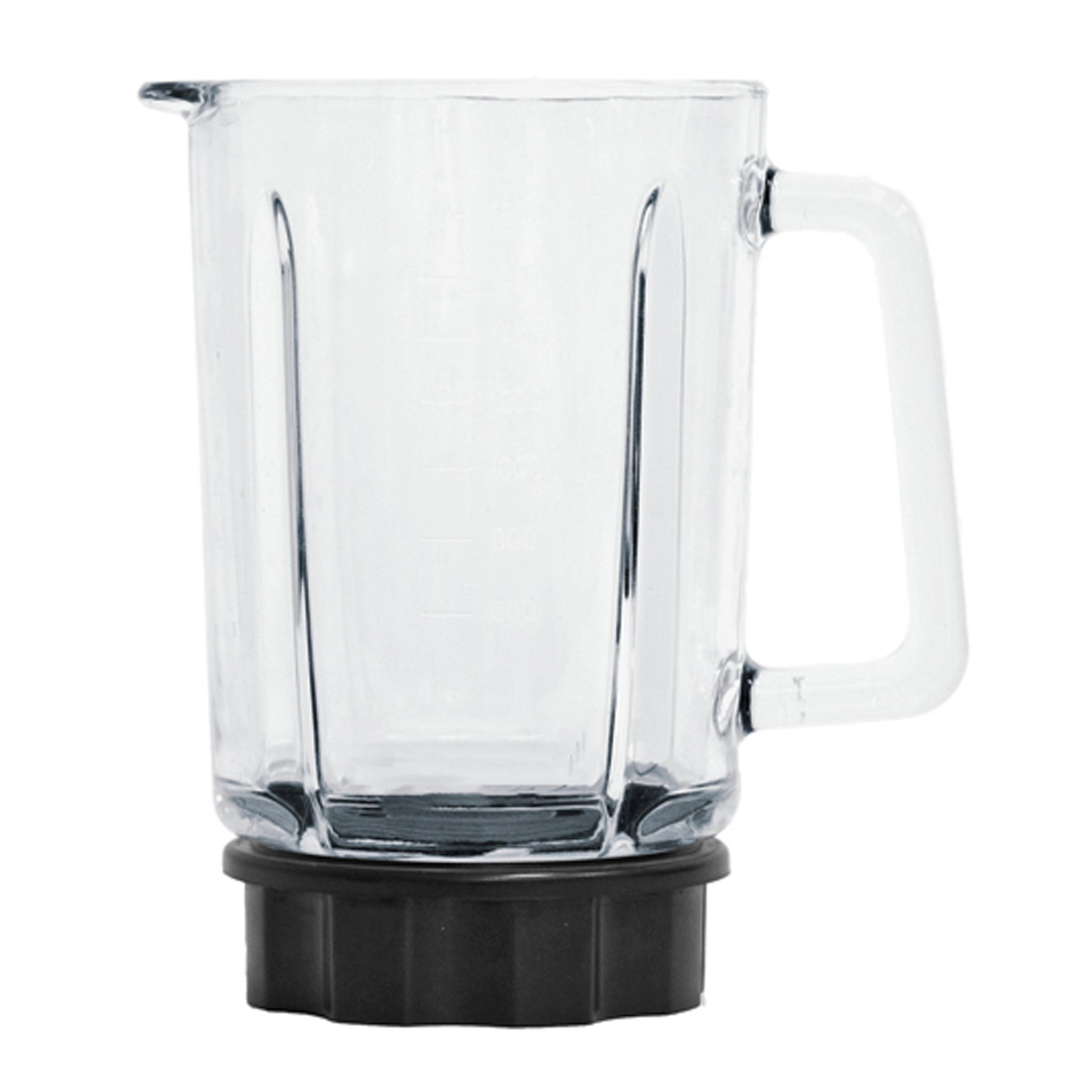 Tempered Glass Carafe/Pitcher for the Dynablend® Clean Blender (DB-950-A). Blade not included.