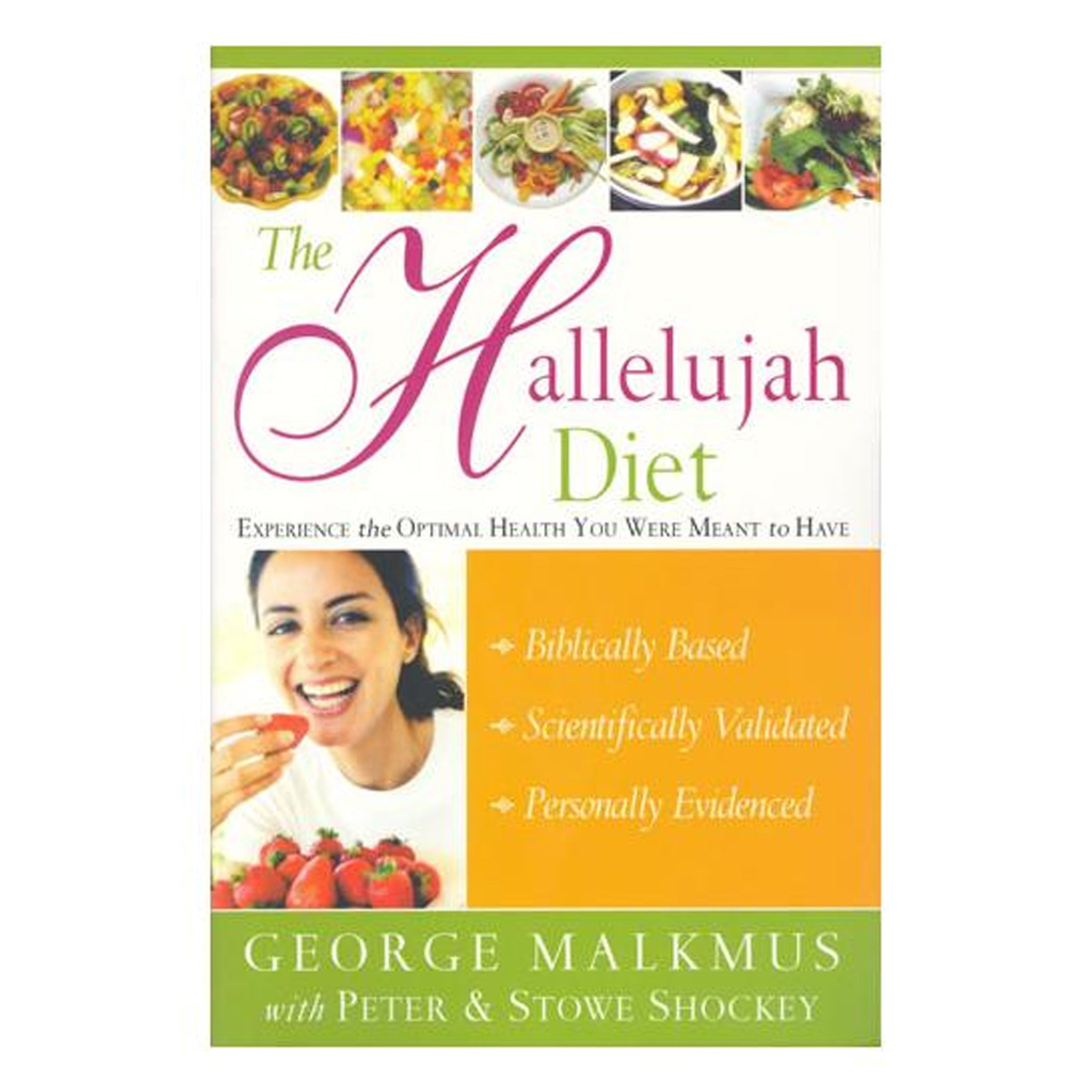 The Hallelujah Diet by Rev. George Malkmus, GPBGM06 - Tribest