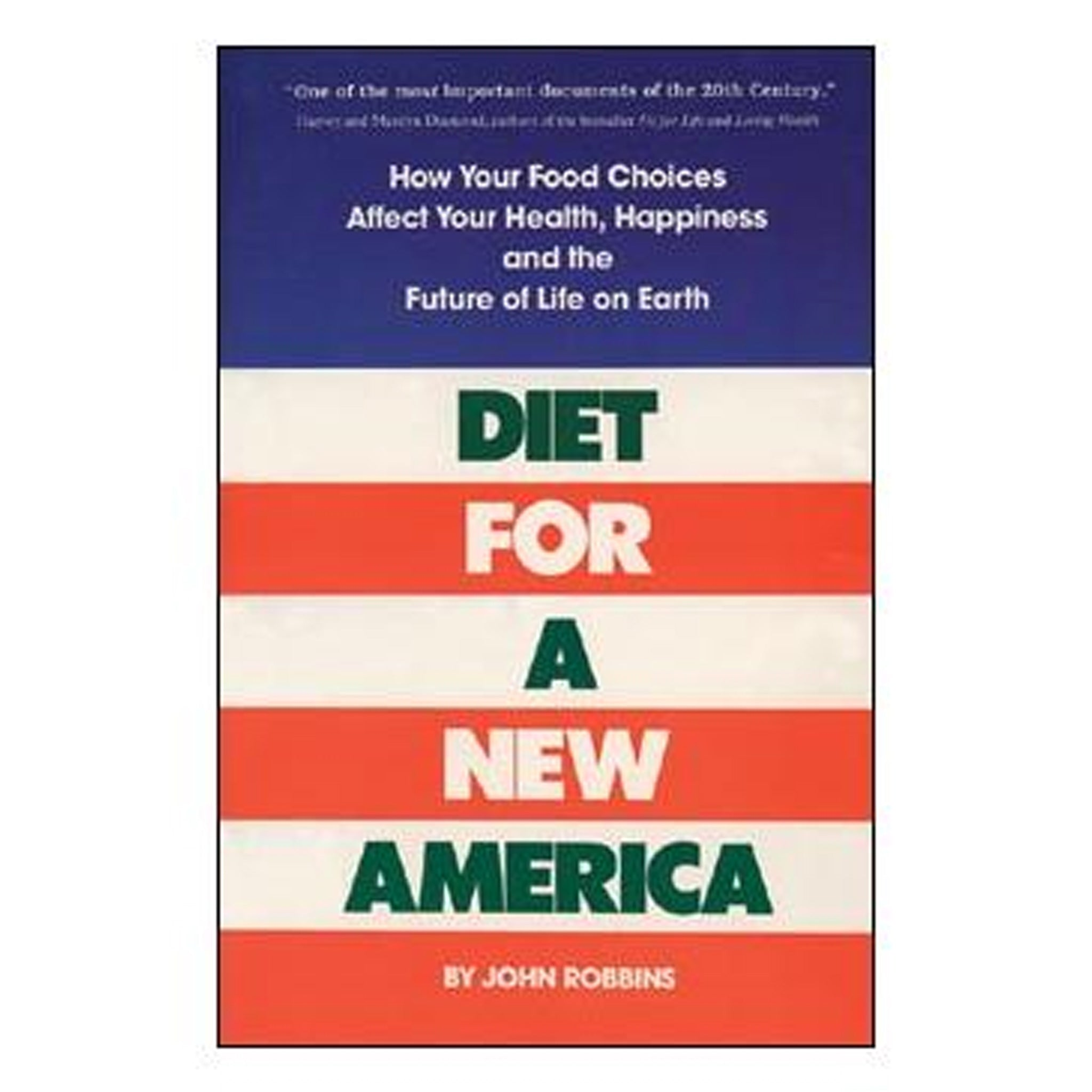 Diet for a New America by John Robbins, GPBJR01 - Tribest