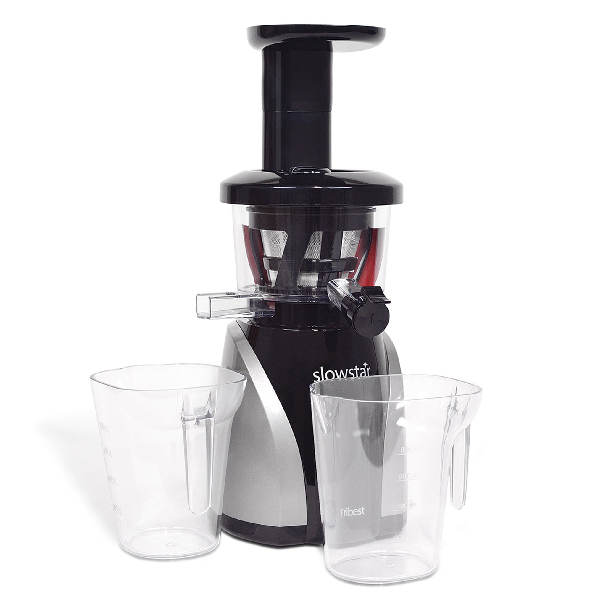Slowstar® Vertical Slow Juicer & Mincer in Silver SW-2020-B - Tribest