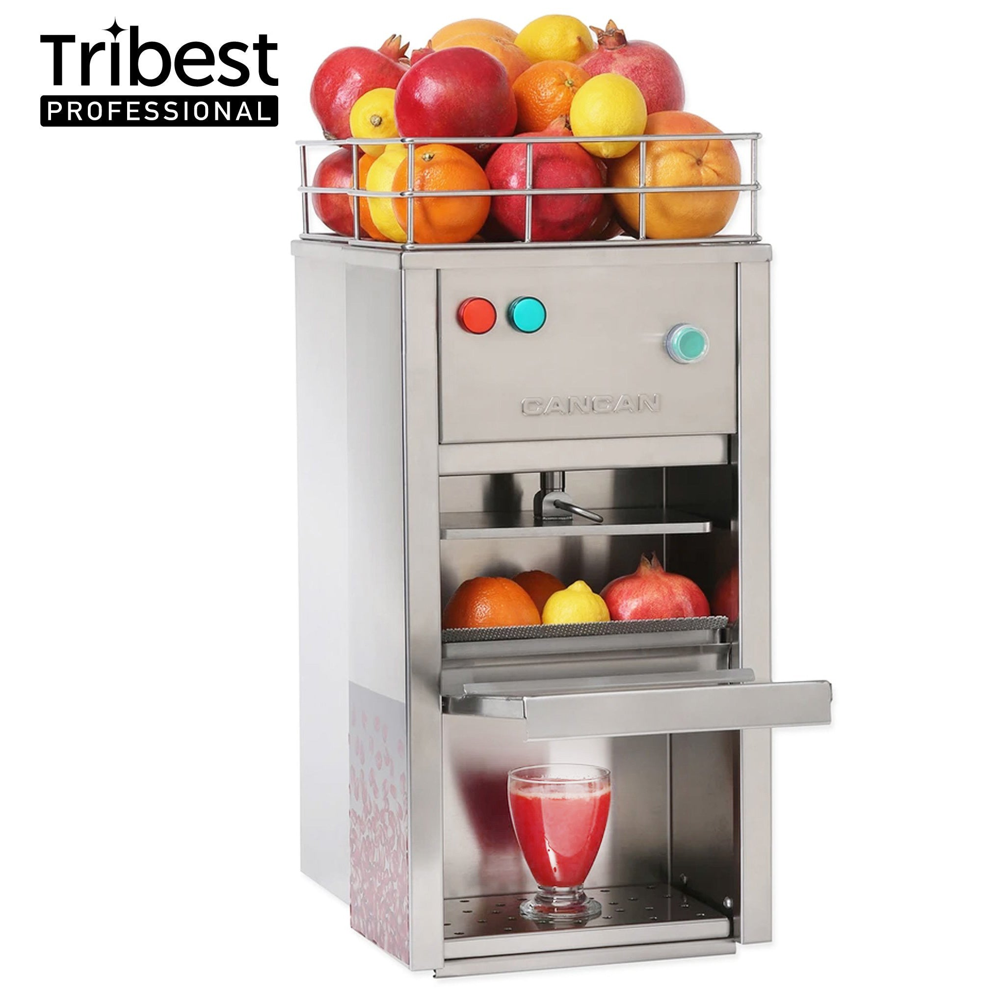 Tribest Professional Cancan Hydraulic Pomegranate Press