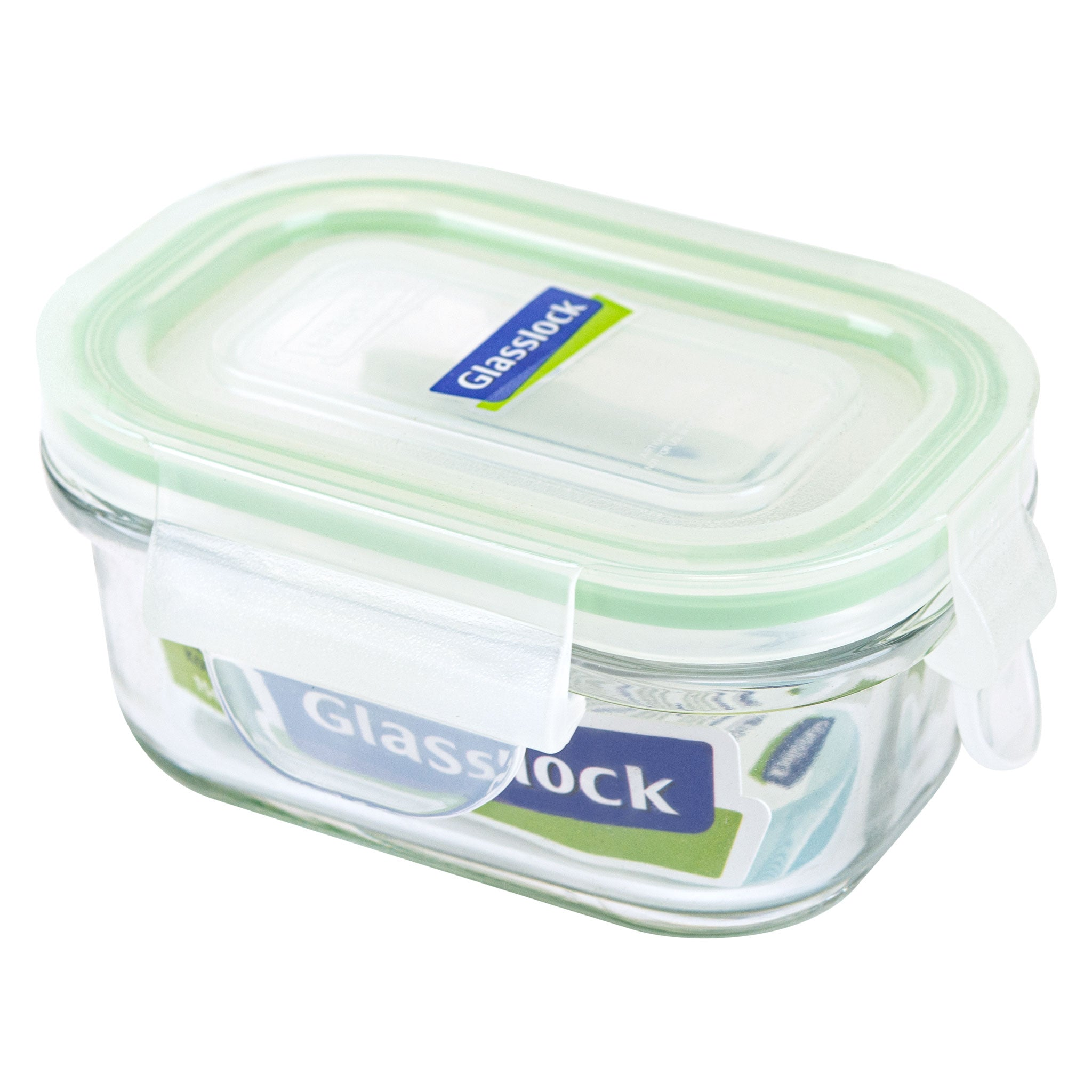 Glasslock Airtight Rectangular Glass Storage Container (5 oz)