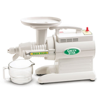 Greenstar Original Basic Twin Gear Slow Masticating Juicer GS-1000-B - Tribest