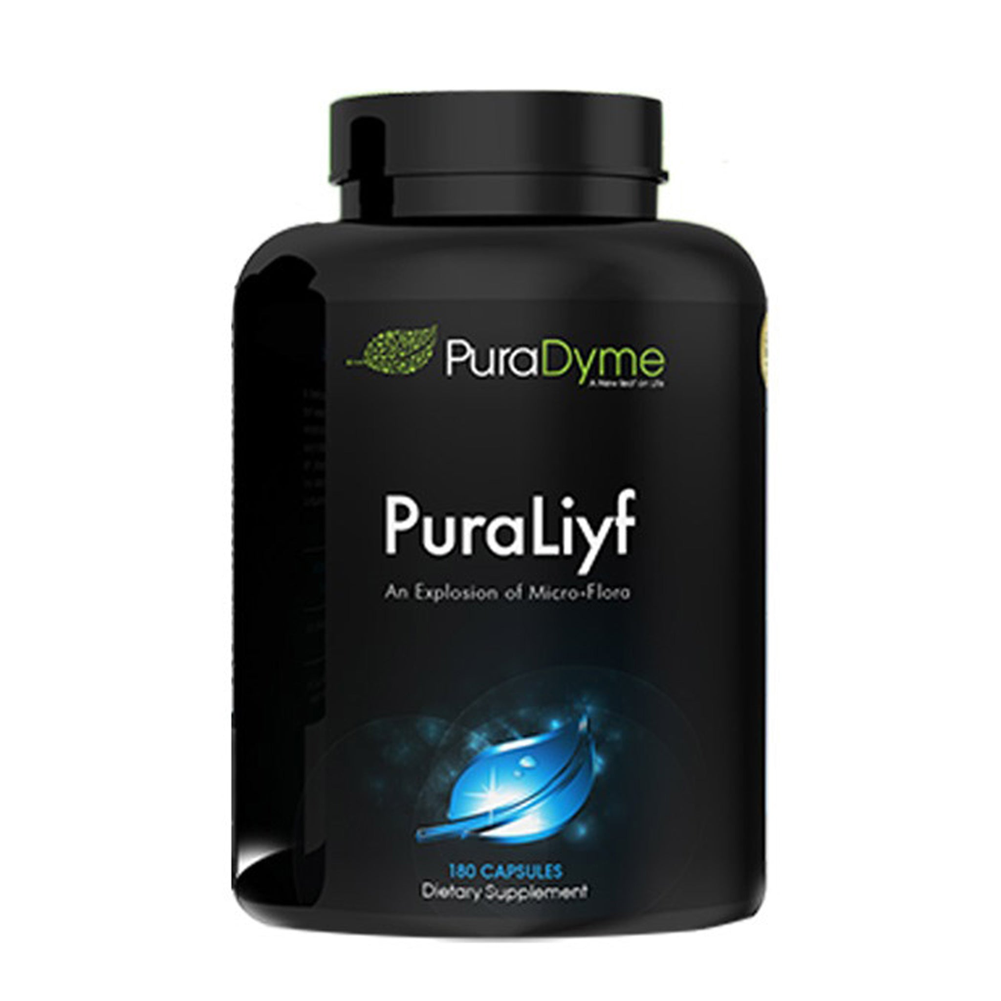 PuraDyme Puraliyf Enzyme Enhanced Probiotics (180 caps)