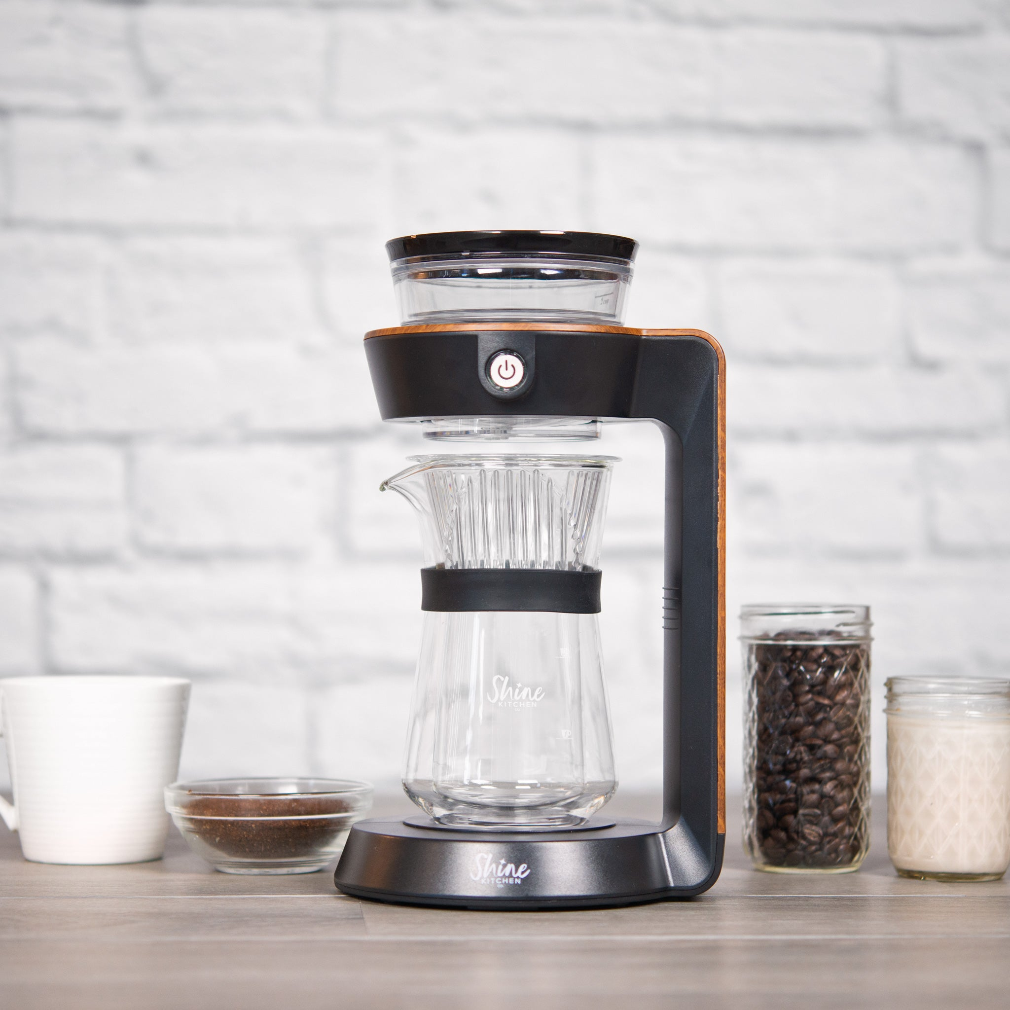 Shine Kitchen Co. Autopour Automatic Pour Over Coffee Machine