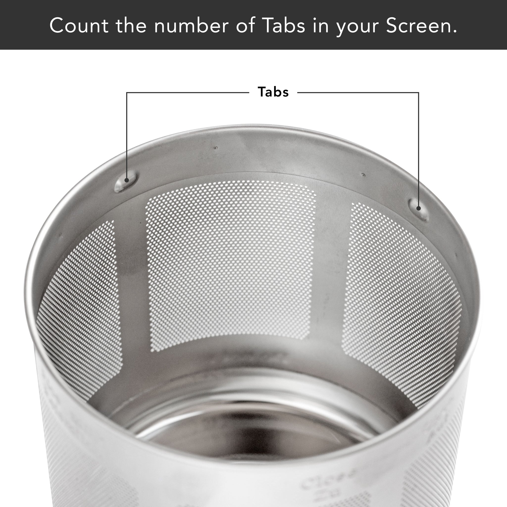 Soyabella® Milk Screen - Number of Tabs in Screen