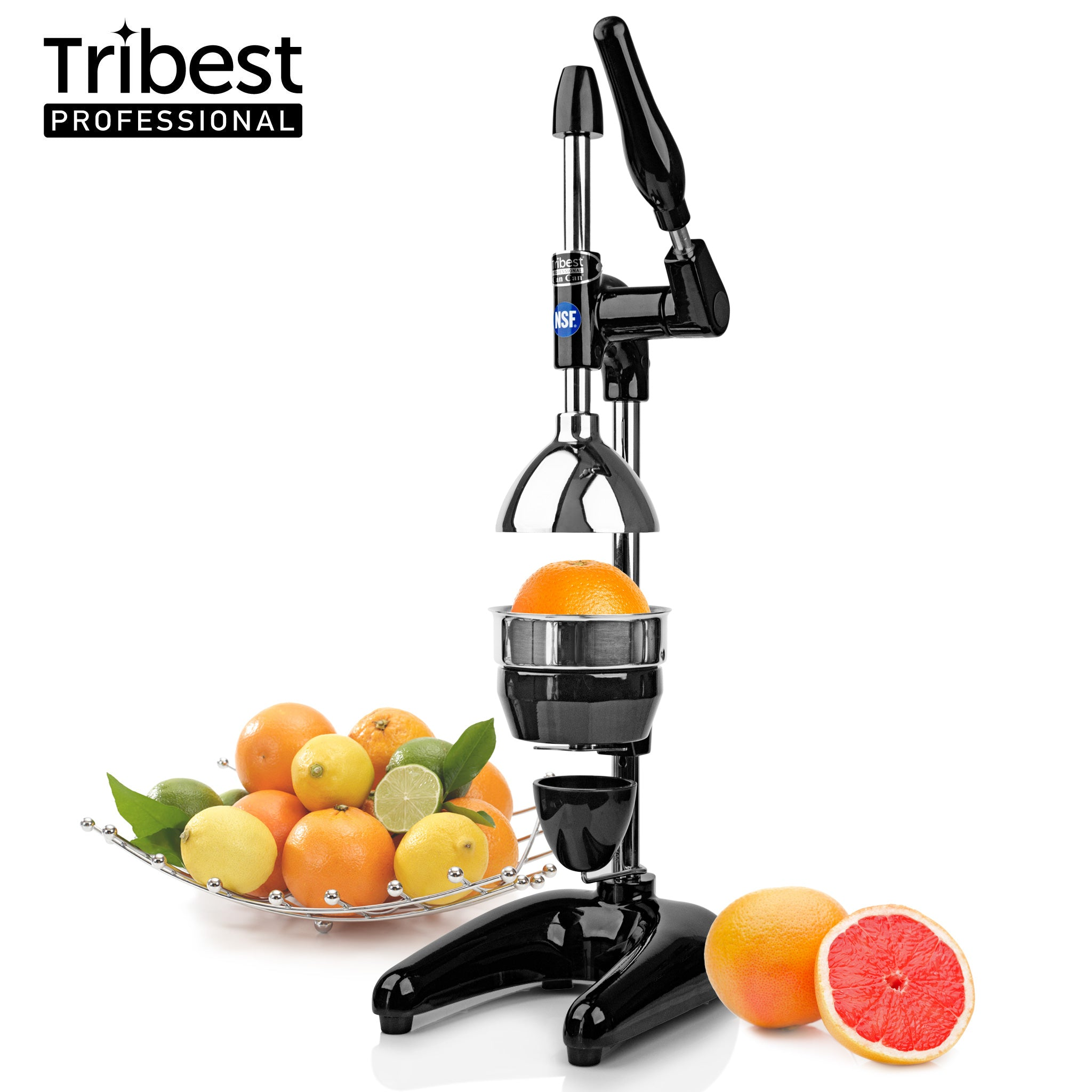 Tribest Professional Cancan Manual Juice Press MJP-100 in Black