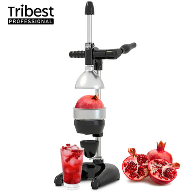 Tribest Professional Cancan XL Manual Juice Press for Pomegranate and Citrus MJP-105 in Black