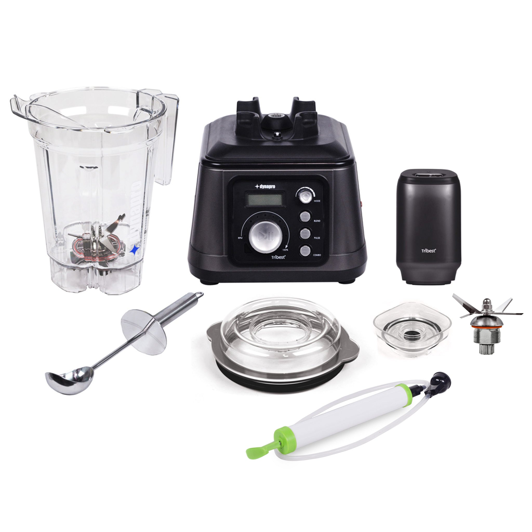 Dynapro Commercial Vacuum Blender DPS-1050A-B - Parts - Tribest