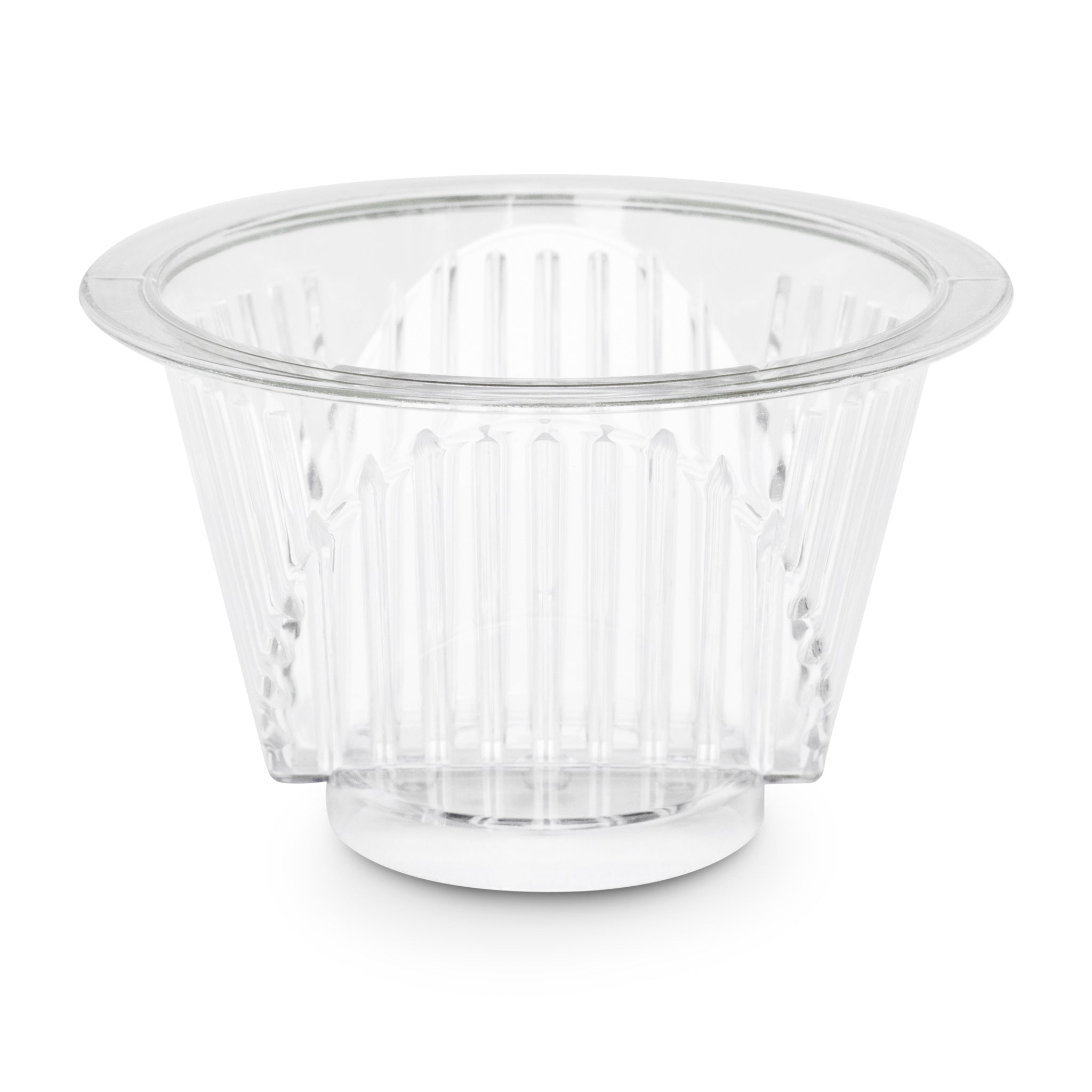 Filter Basket for Shine Kitchen Co.® Automatic Pour Over Coffee Machine (SCH-150) uses a #1 cone paper filter.
