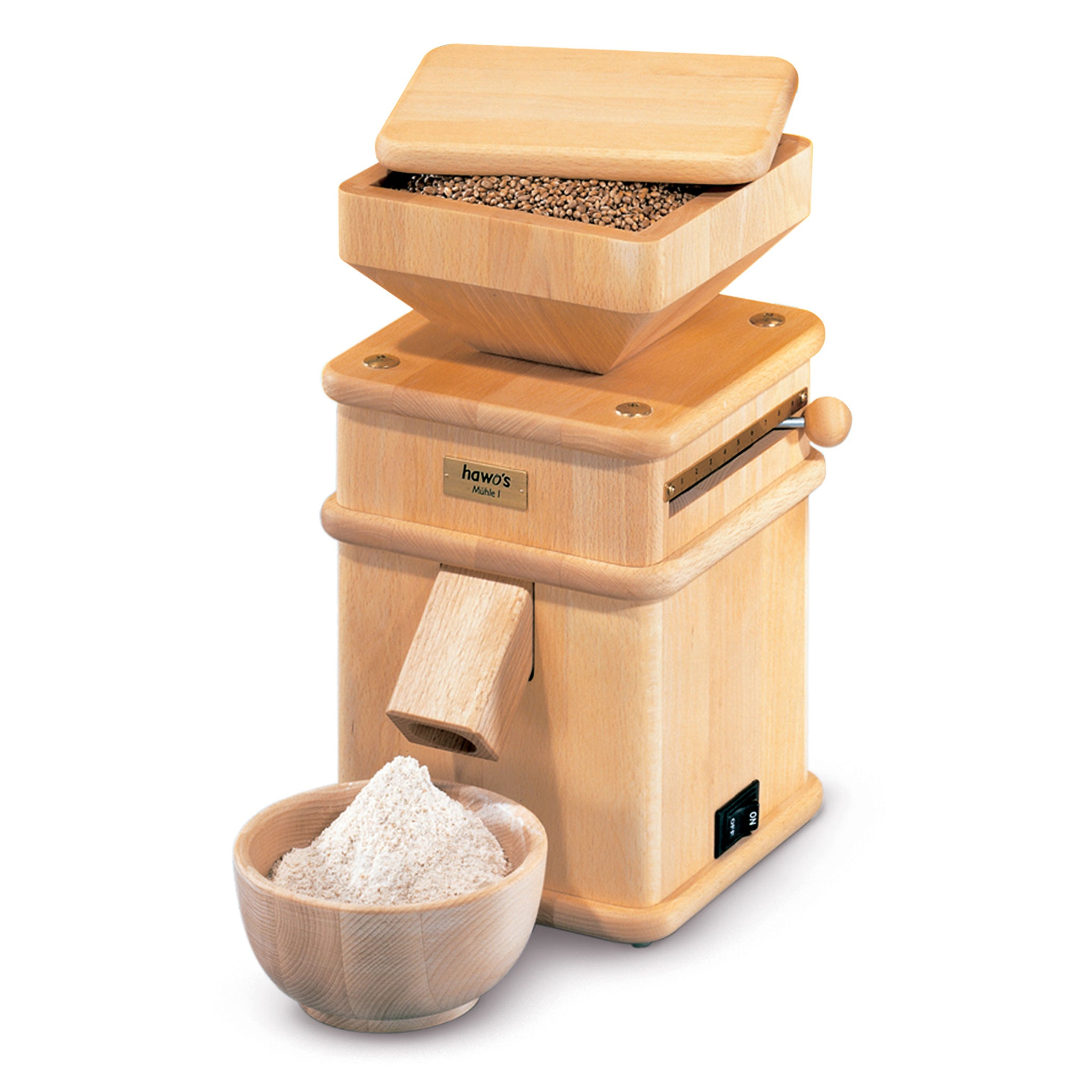 Mill-1 Hand-Crafted Grain Mill HM-MILL-B - Tribest