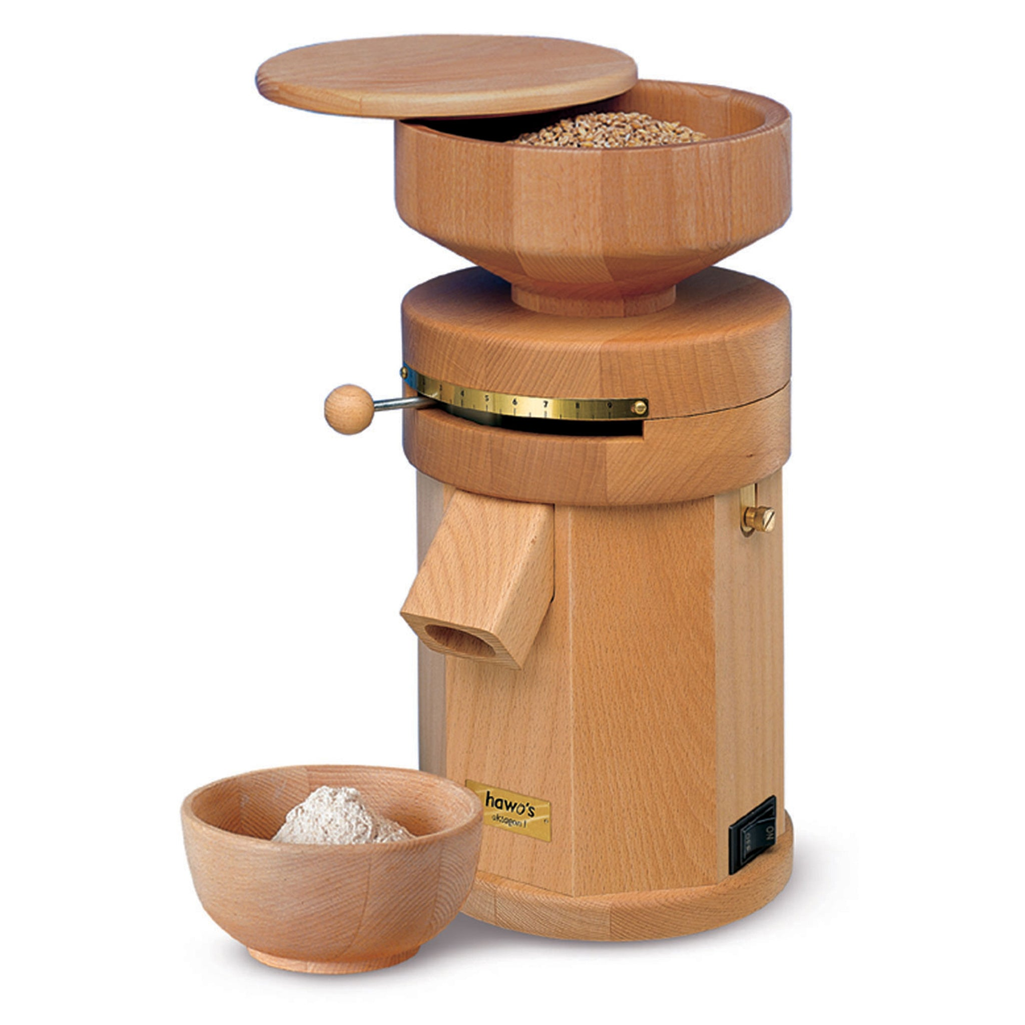 Octagon-1 Hand-Crafted Grain Mill HM-OCTA-B - Tribest