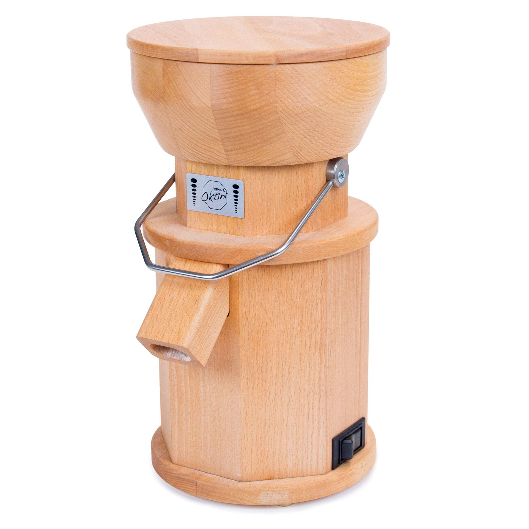 Oktini Hand-Crafted Grain Mill HM-OKTI-B - Tribest