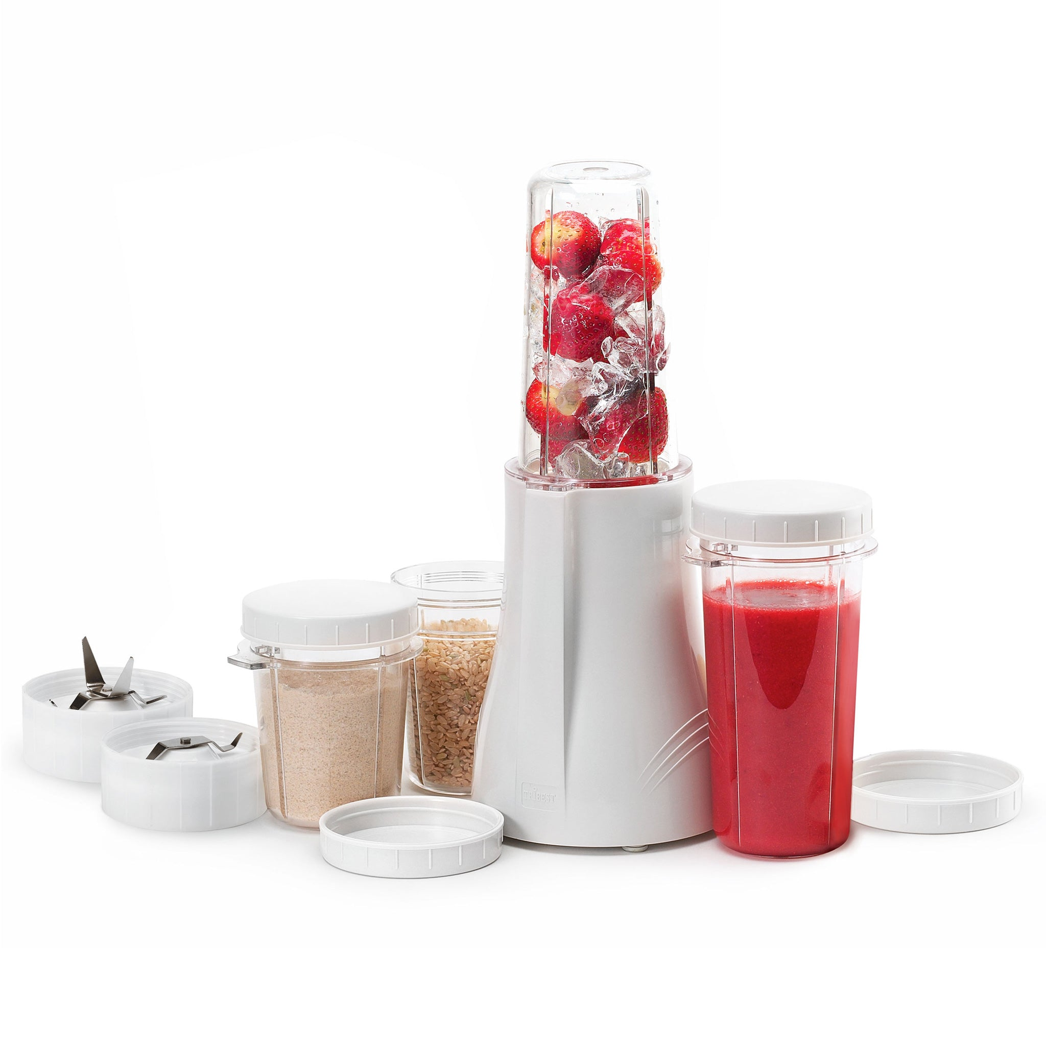 Personal Blender® Original Single-Serving Blender (11-Piece Complete Blend and Grind Set) PB-250-A - Tribest