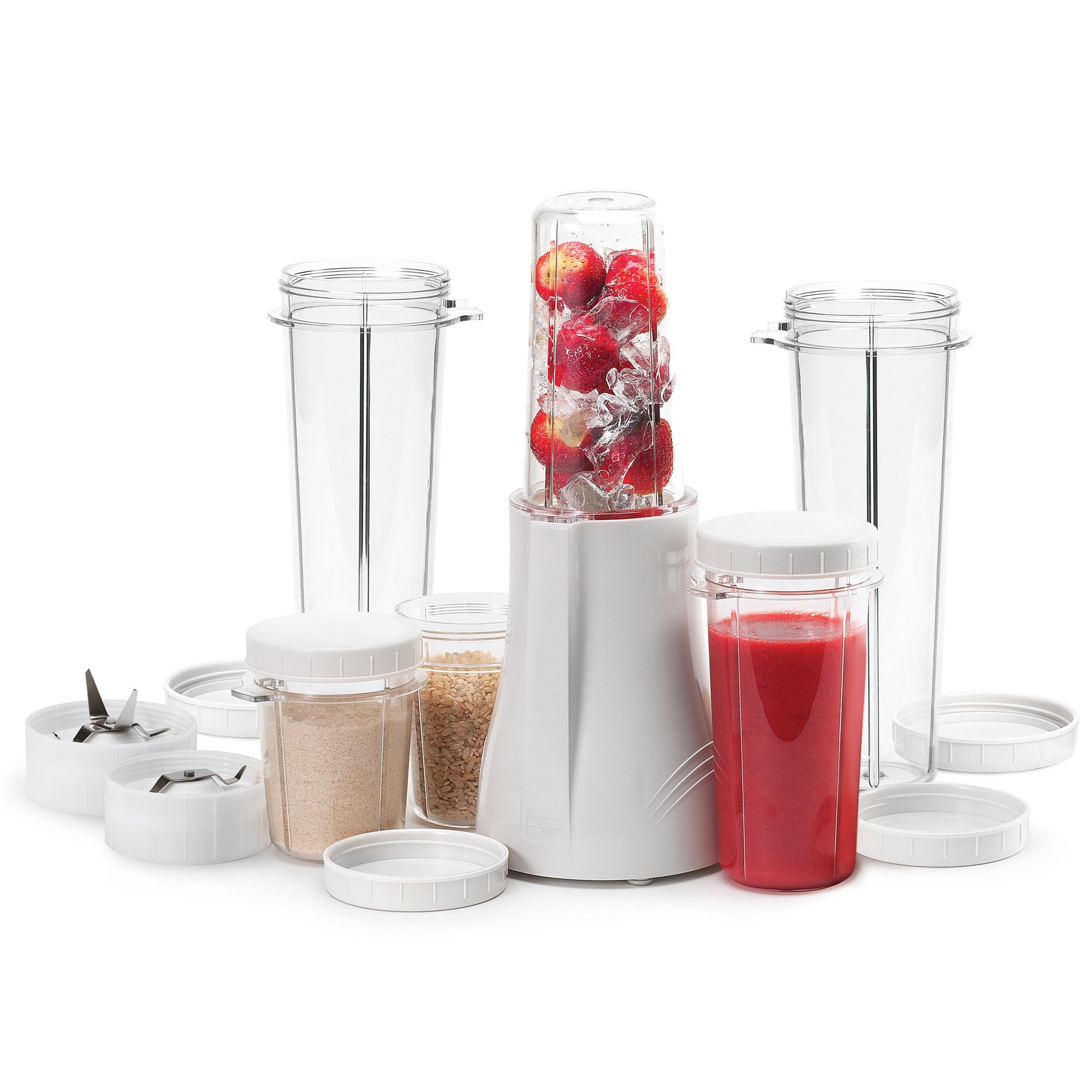 Personal Blender® Original Single-Serving Blender (15-Piece Complete Blend and Grind Set) PB-250XL-A - Tribest