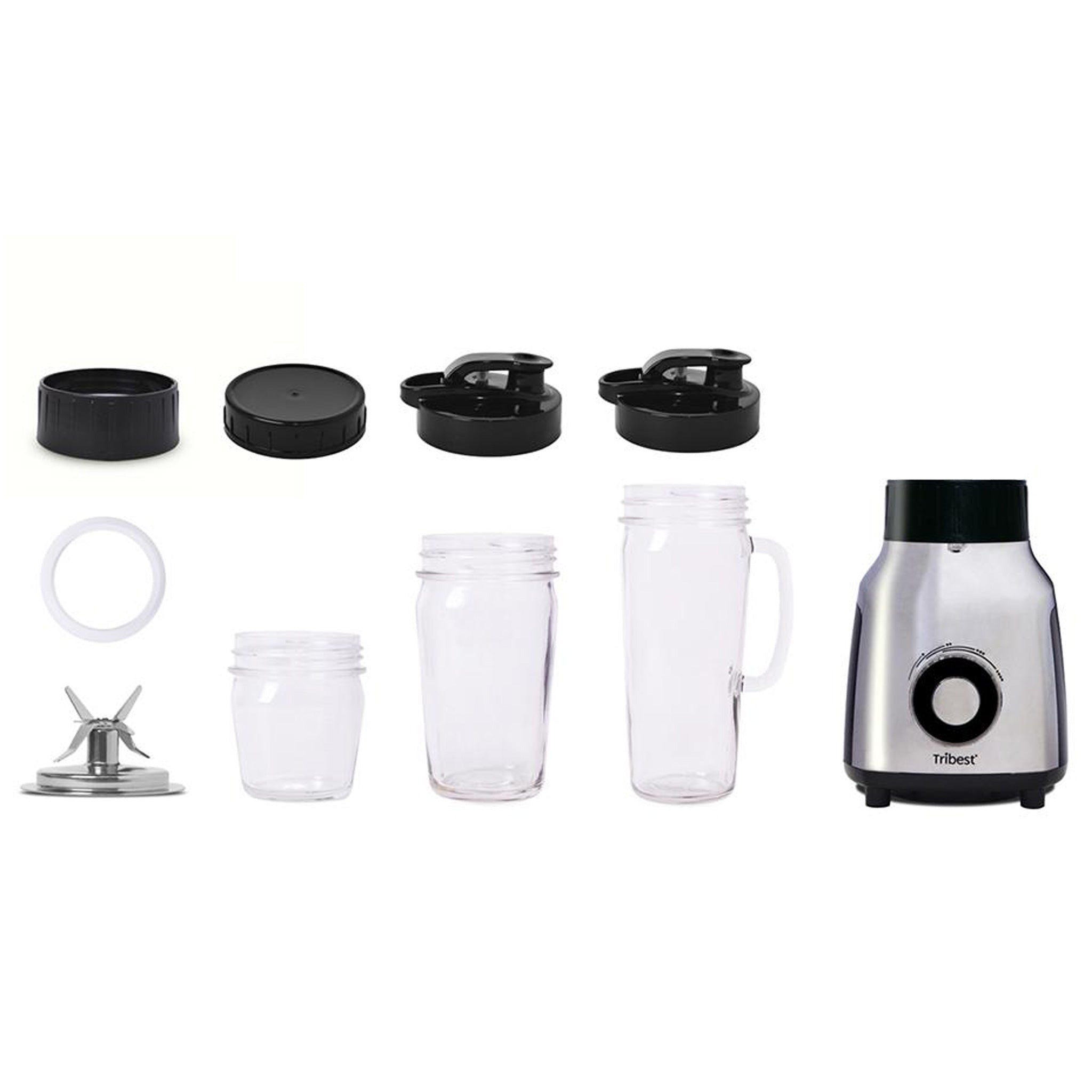 Glass Personal Blender Single-Serving Blender PBG-5050-A - Parts - Tribest