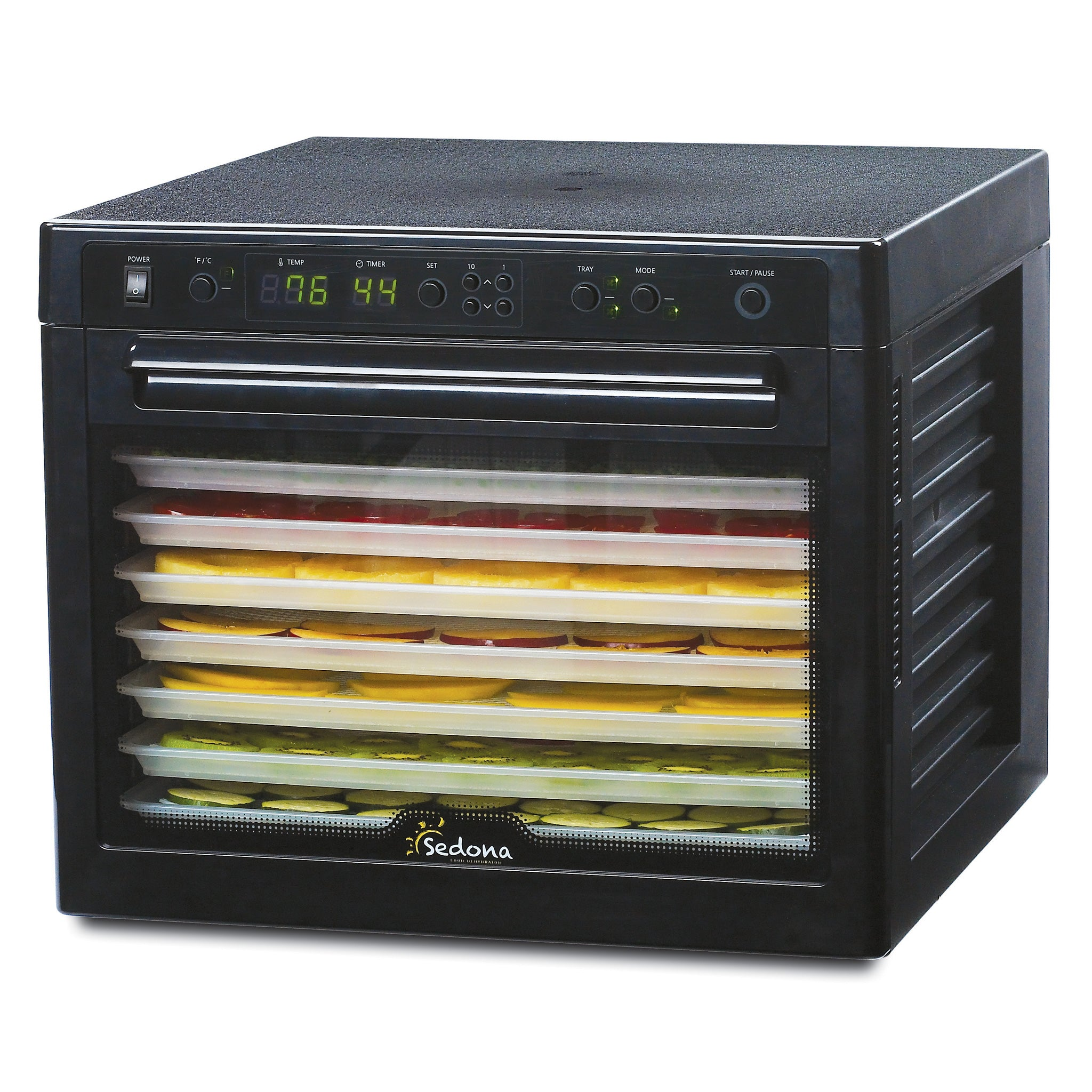Sedona Classic Food Dehydrator with BPA-Free Plastic Trays SD-P9000-B - Tribest