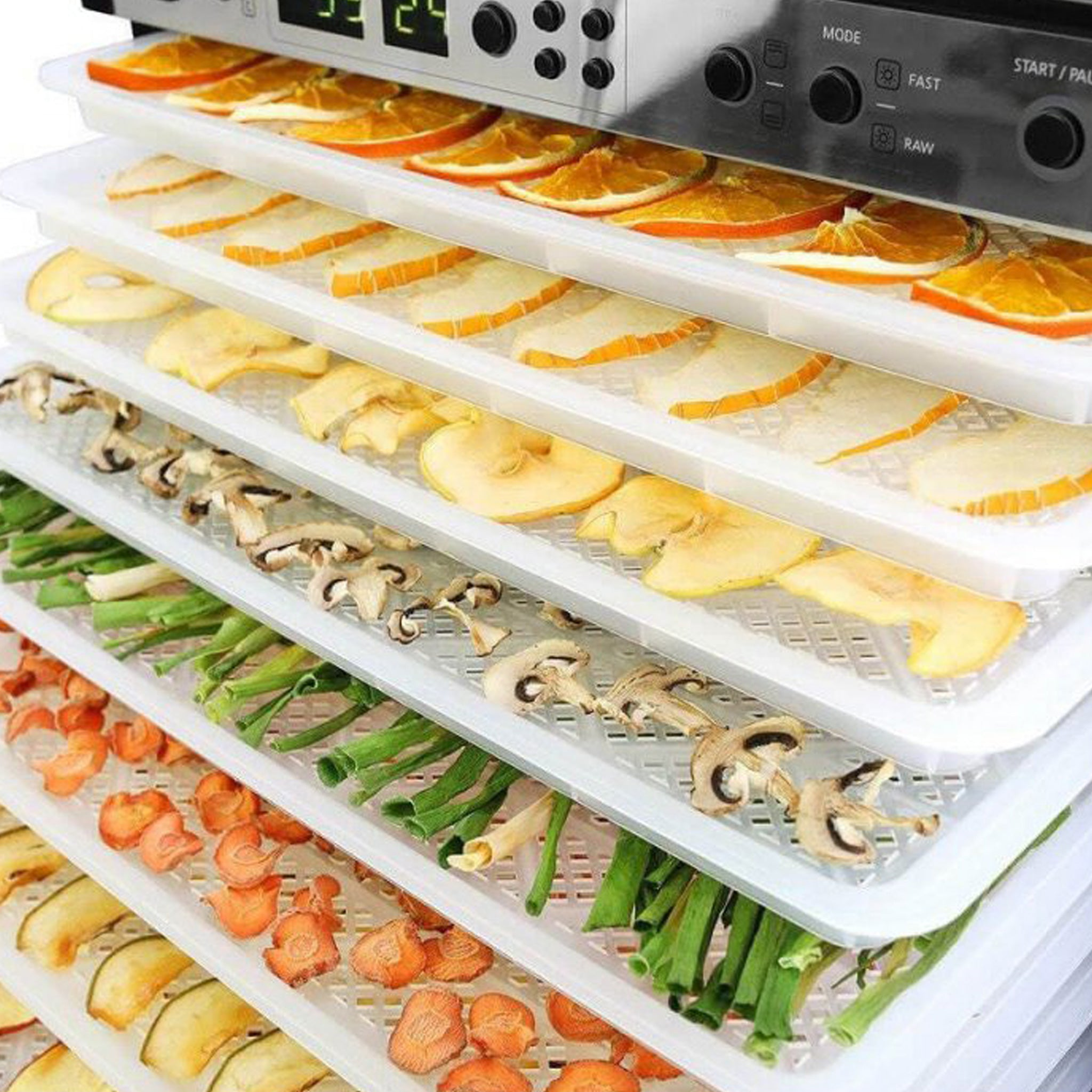 Sedona Combo Food Dehydrator with BPA-Free Plastic Trays SD-P9150-B - Tribest