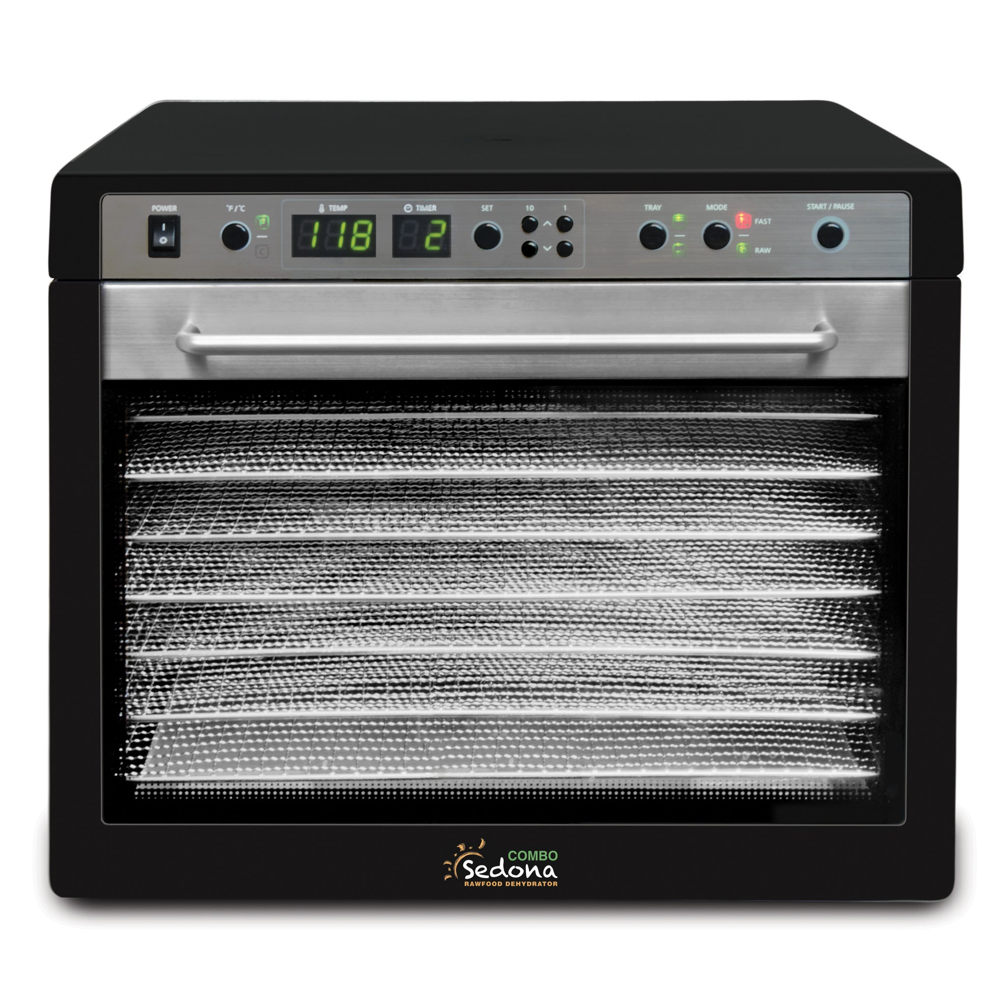 Sedona Combo Food Dehydrator with Stainless Steel Trays SD-S9150-B - Tribest