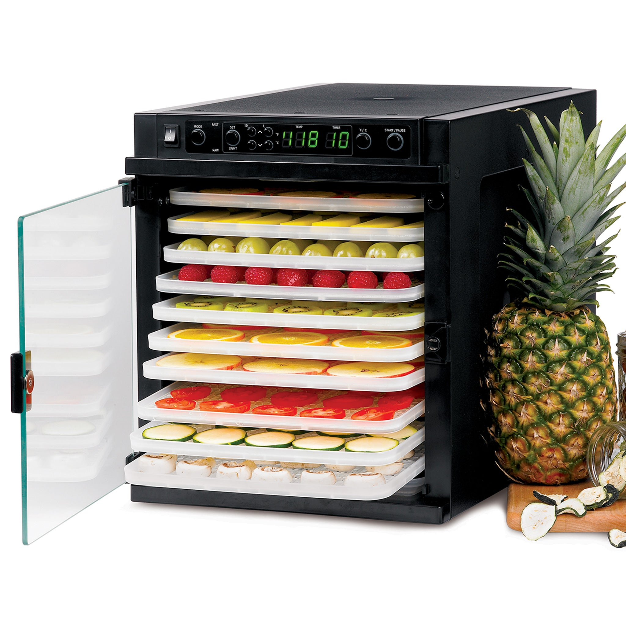 Sedona Express Food Dehydrator with BPA-Free Plastic Trays SDE-P6280 - Tribest