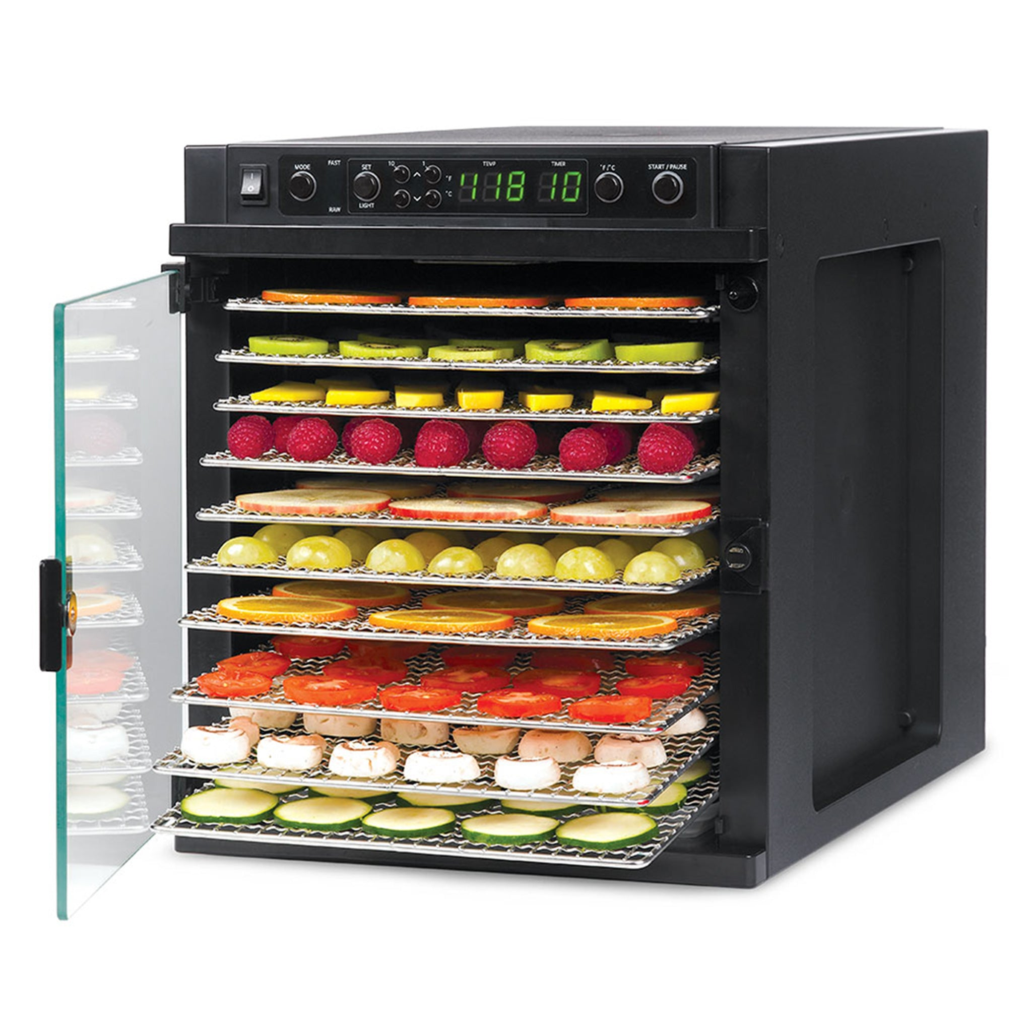 Sedona Express Food Dehydrator with Stainless Steel Trays SDE-S6780-B - Tribest