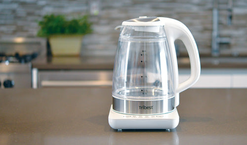 Glass Boiling Chamber with Protective Outer Layer - Raw Tea Kettle® Glass Electric Water Kettle