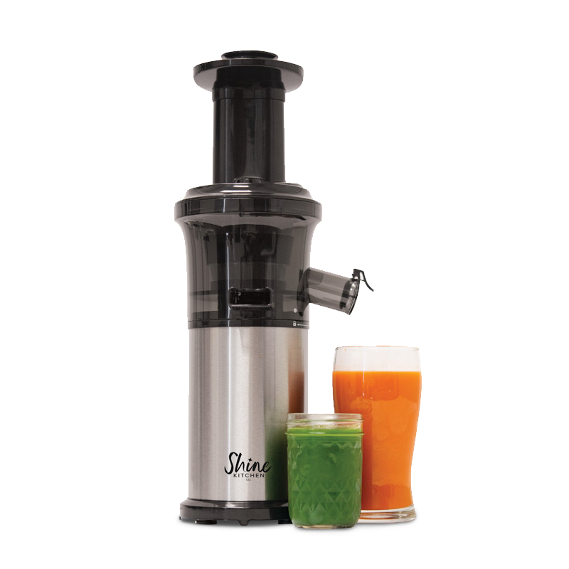 Shine Kitchen Co. Cold Press Vertical Slow Juicer